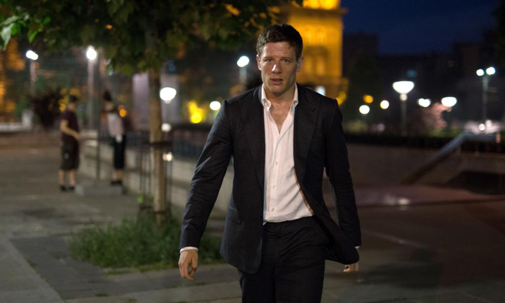James Norton as Alex Godman.