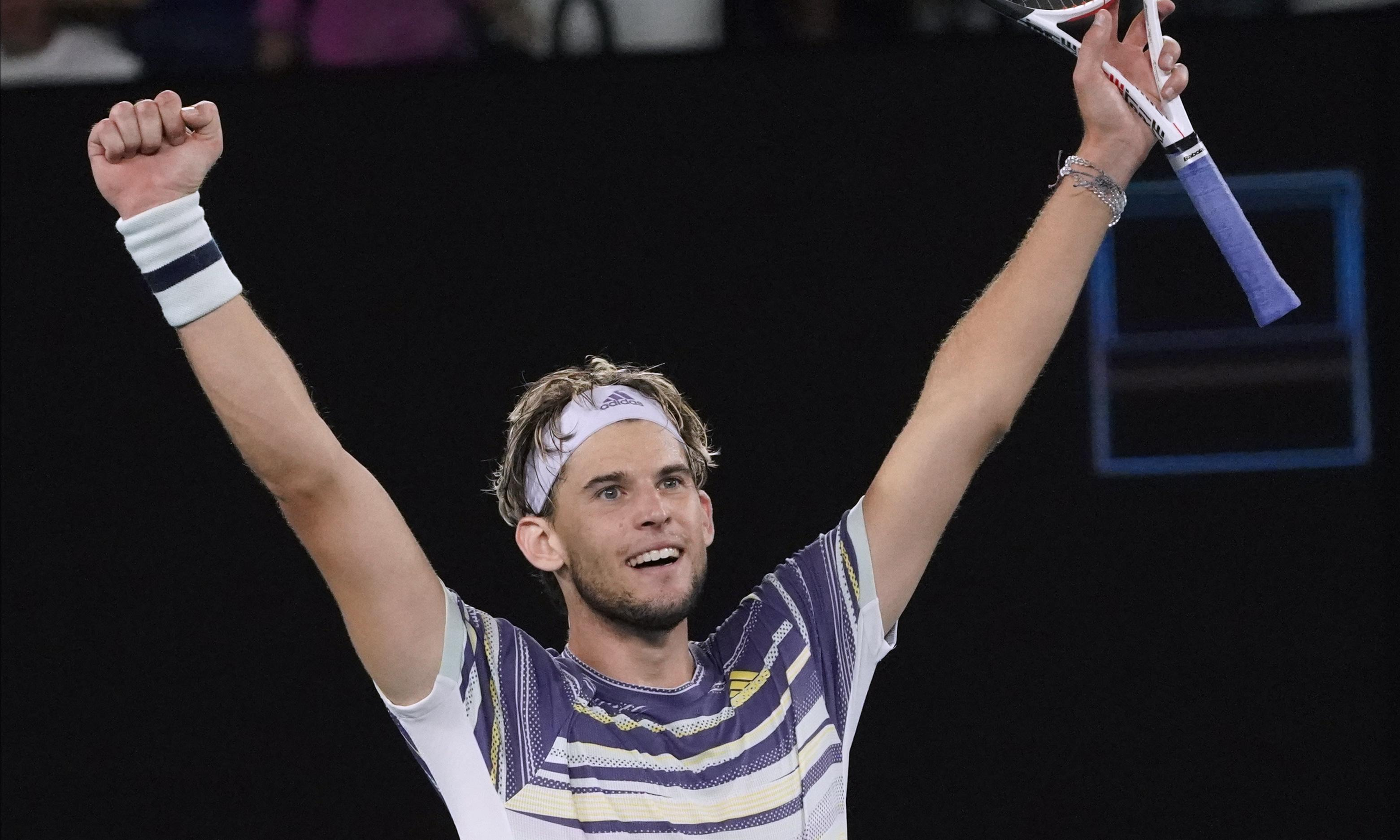No room for sentiment in Dominic Thiem's pursuit of Djokovic's crown