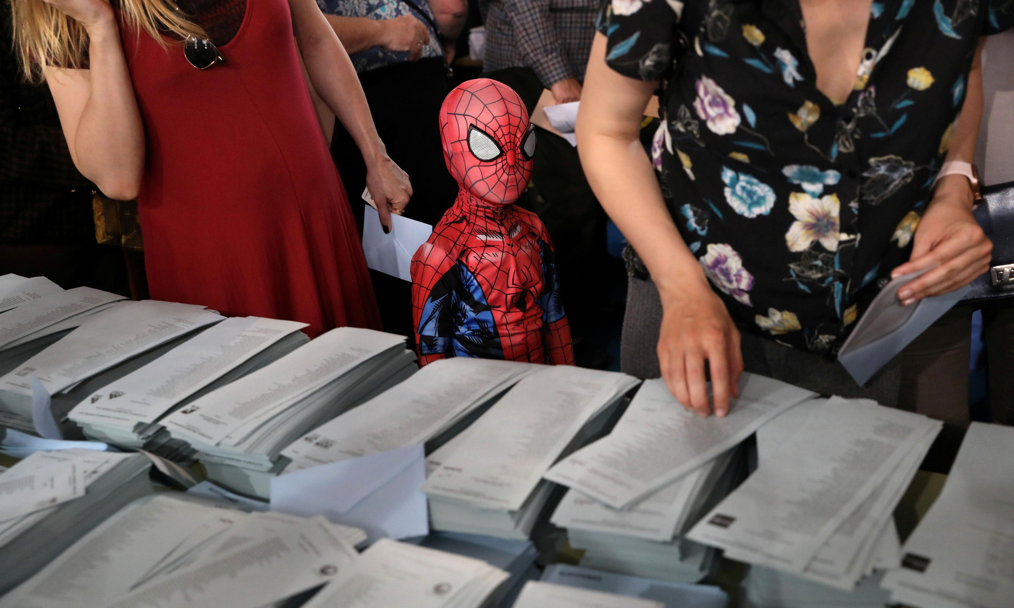 EU election turnout rises as political landscape fragments