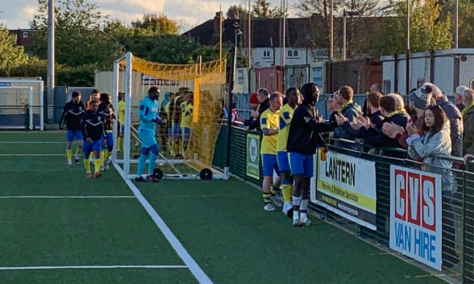 Two men arrested over alleged racist abuse at Haringey FA Cup match