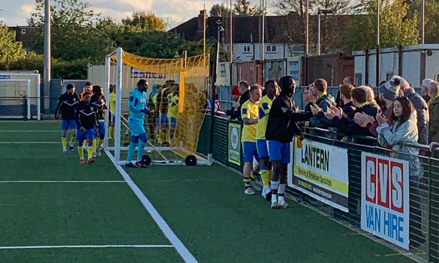 Haringey players walk off after racism allegations in Yeovil FA Cup tie