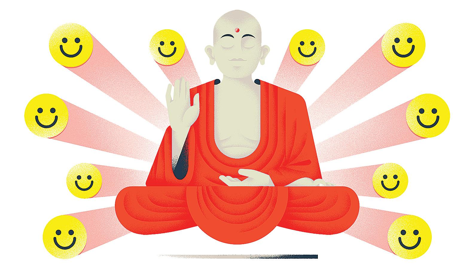 If you want to have a good time, ask a Buddhist