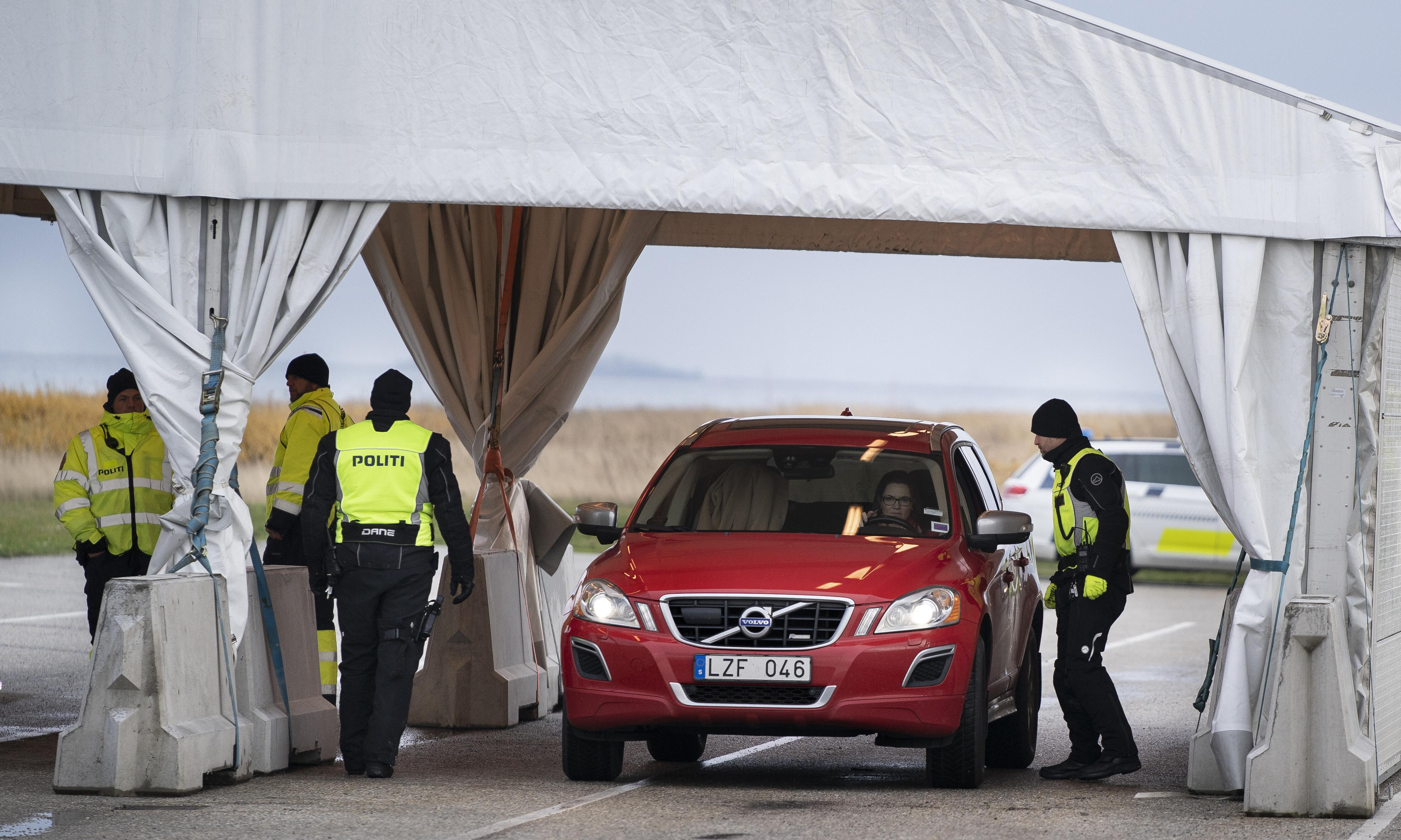 Denmark reinstates border checks at crossings to Sweden after bombings
