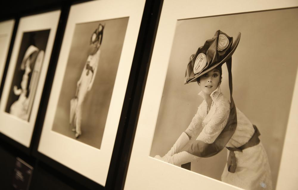 Photographs of Audrey Hepburn by Cecil Beaton.