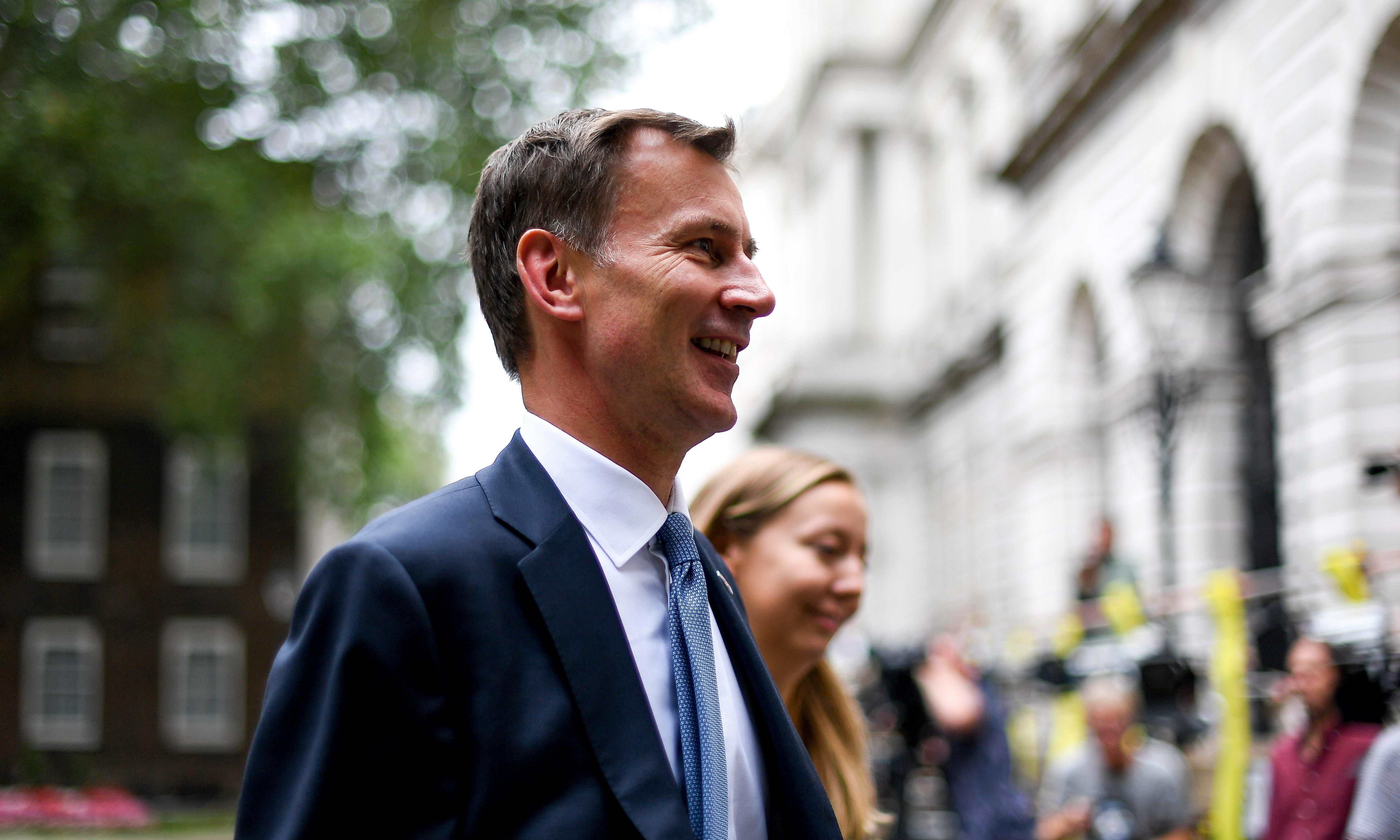 Grateful for support over Iran, Hunt wishes it had come a little sooner