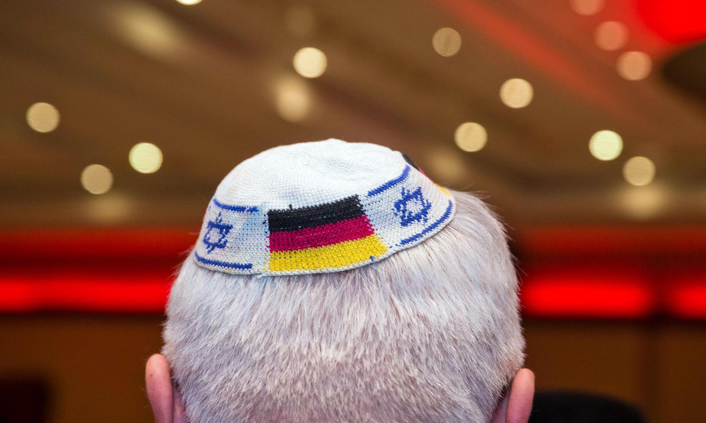 Jews in Germany warned of risks of wearing kippah cap in public