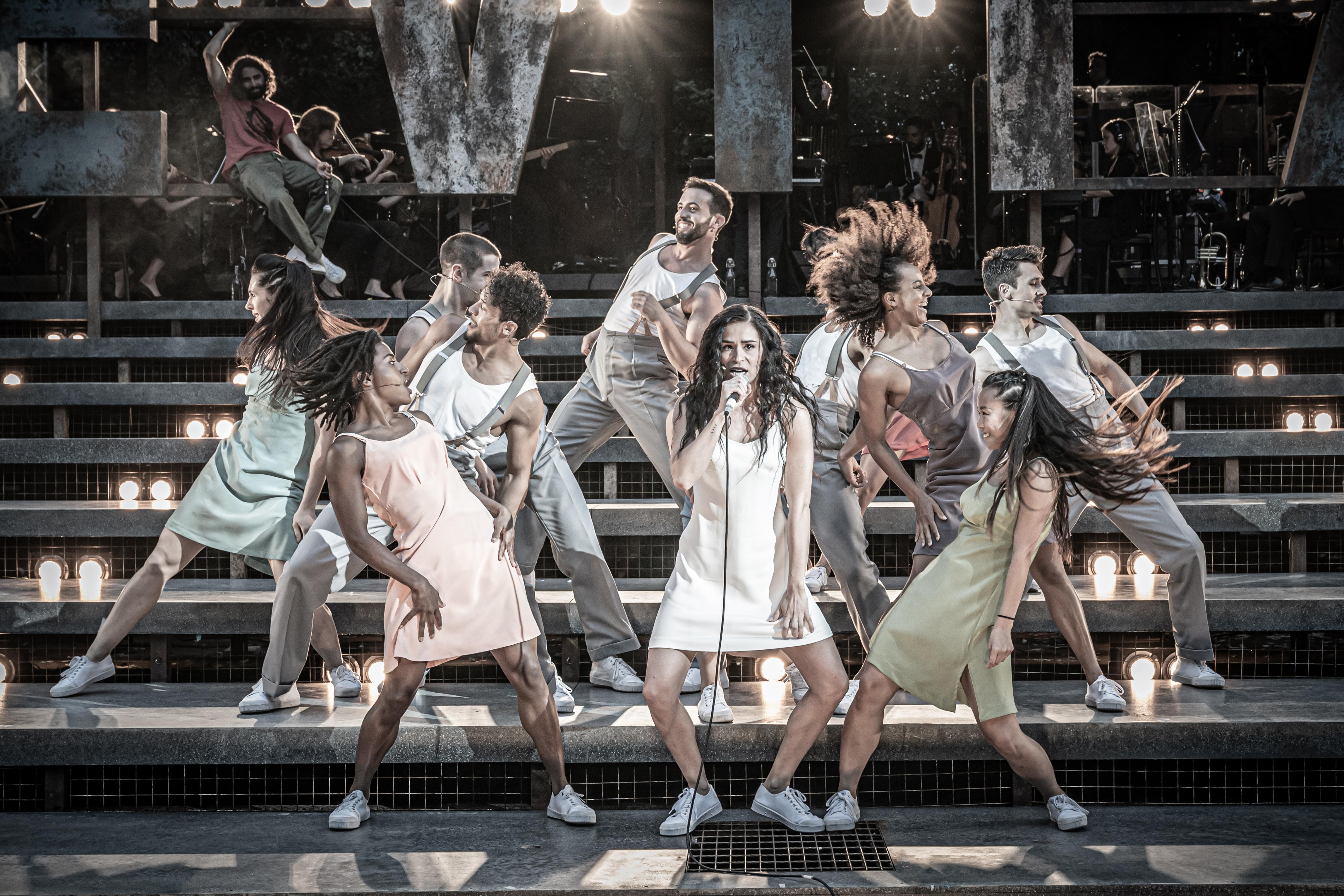 Evita review – a work of screaming fun