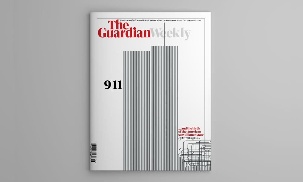 The cover of the 10 September edition of Guardian Weekly.