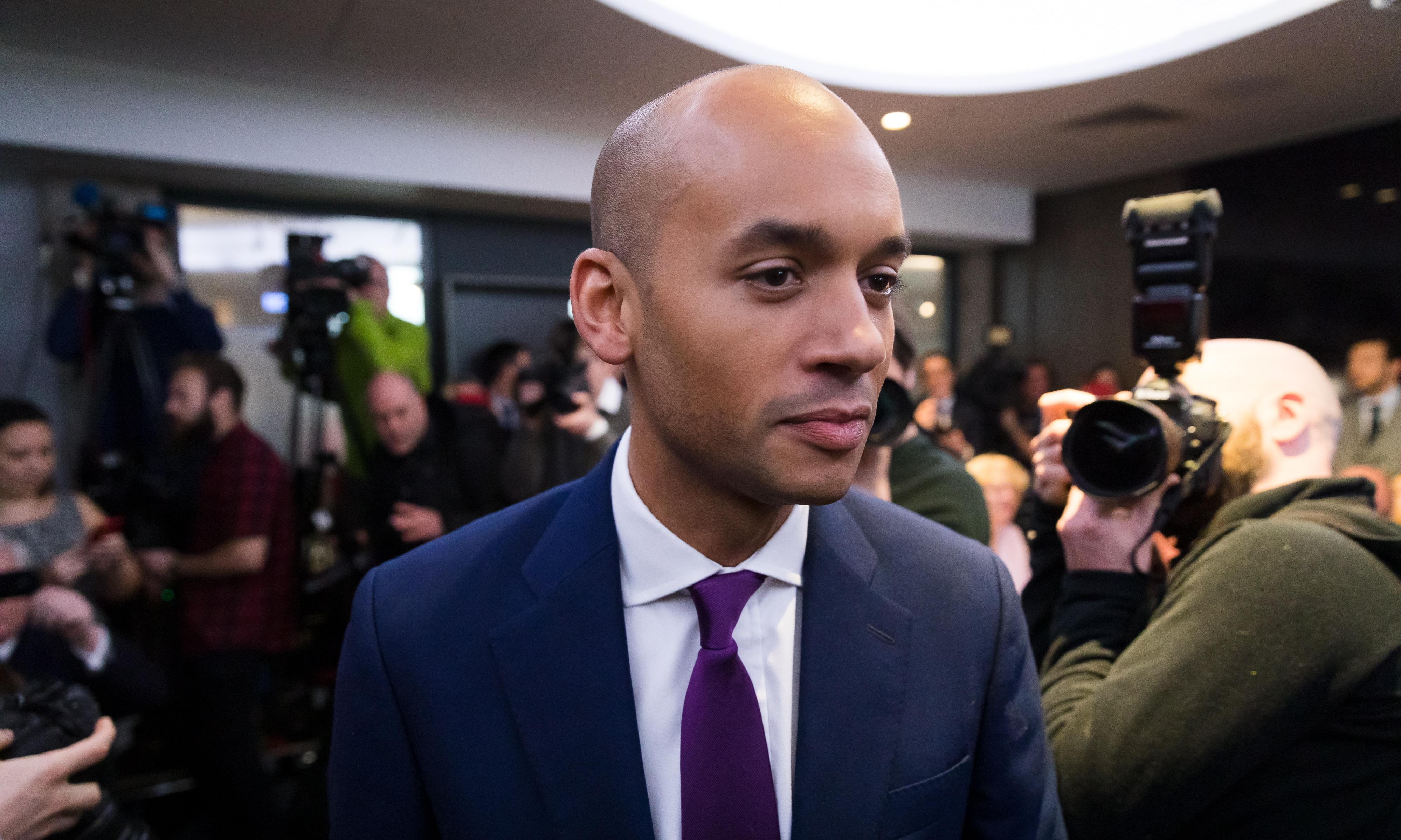 Chuka Umunna hopes new party will be created by end of year