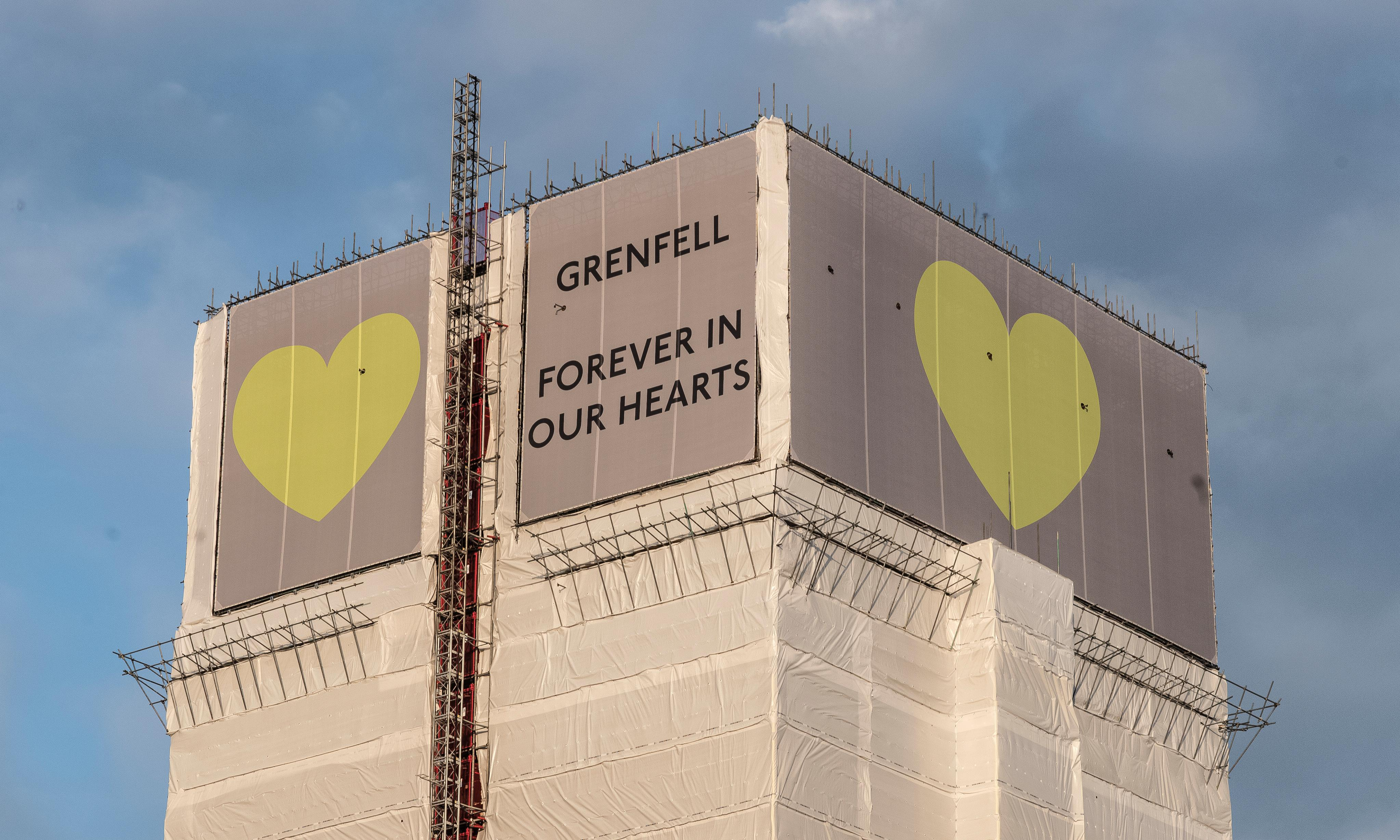 Man charged over Grenfell effigy fire video