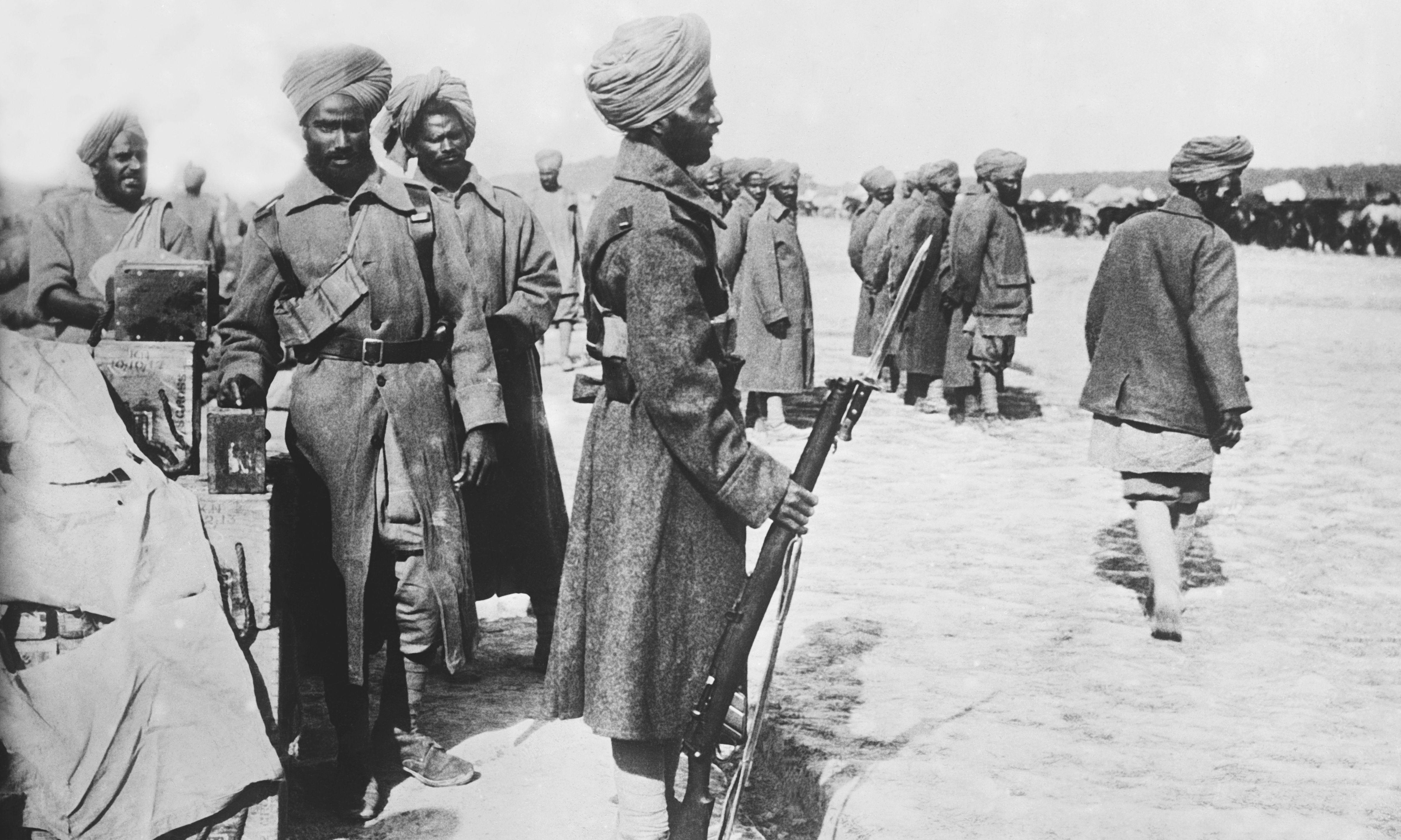 How Kipling helped quell an Indian mutiny in first world war trenches