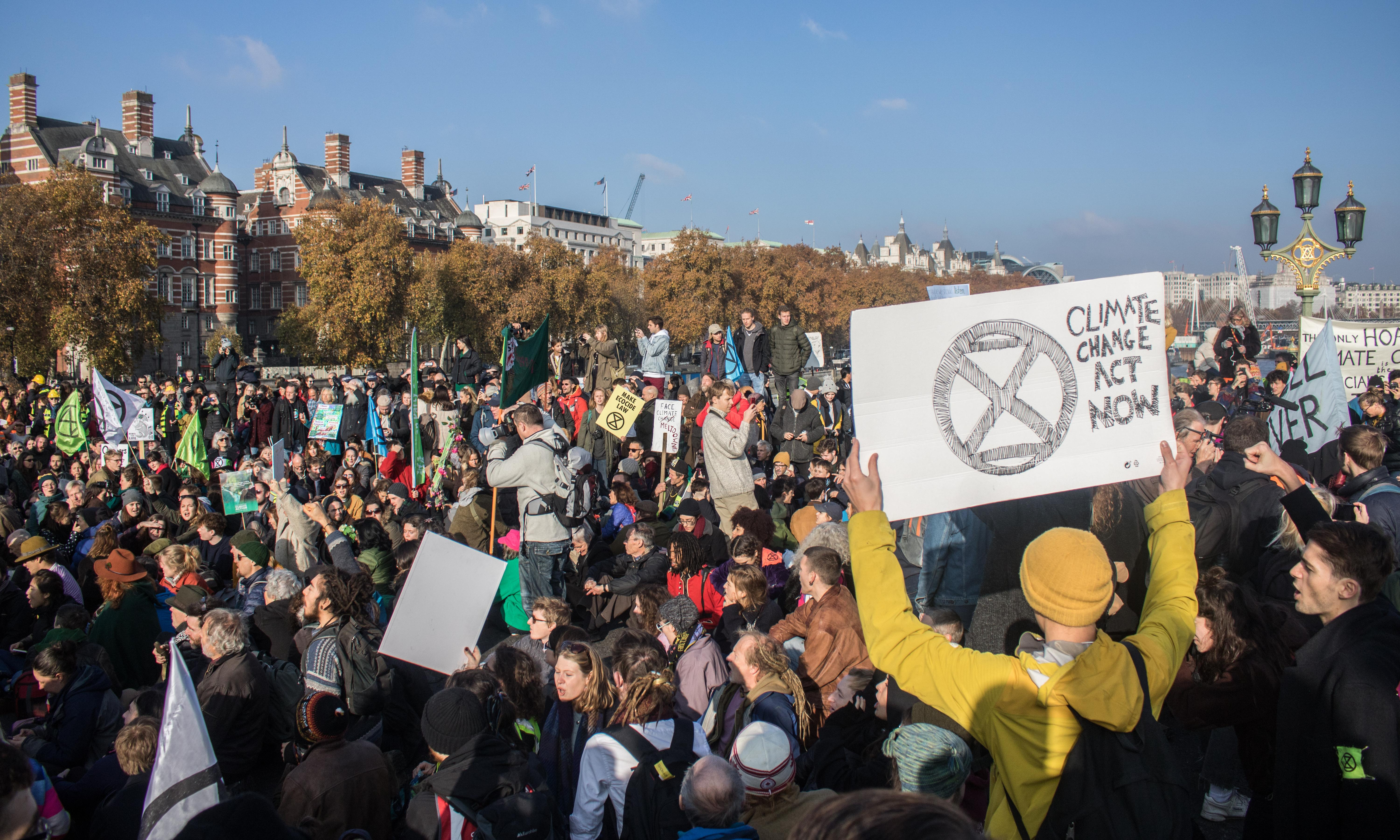 Extinction Rebellion goes global in run-up to week of international civil disobedience