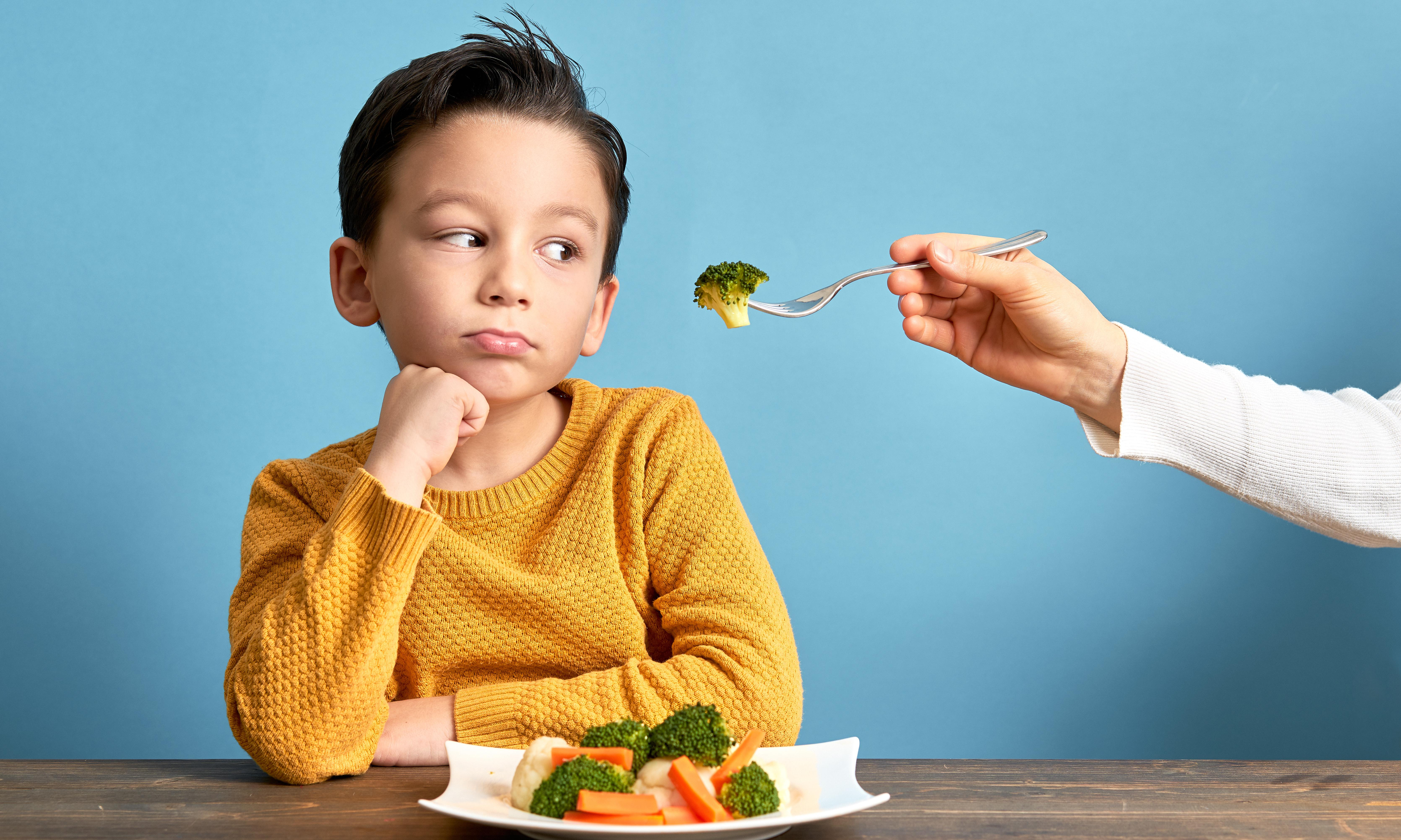 Five ways to get your children to eat vegetables