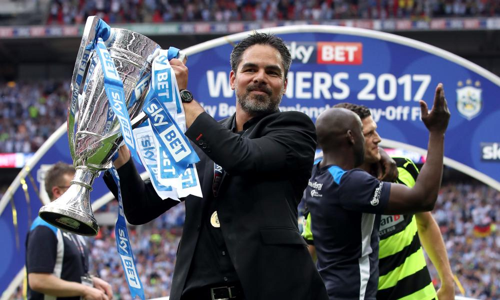 David Wagner, who led Huddersfield Town to promotion via the Championship play-offs.