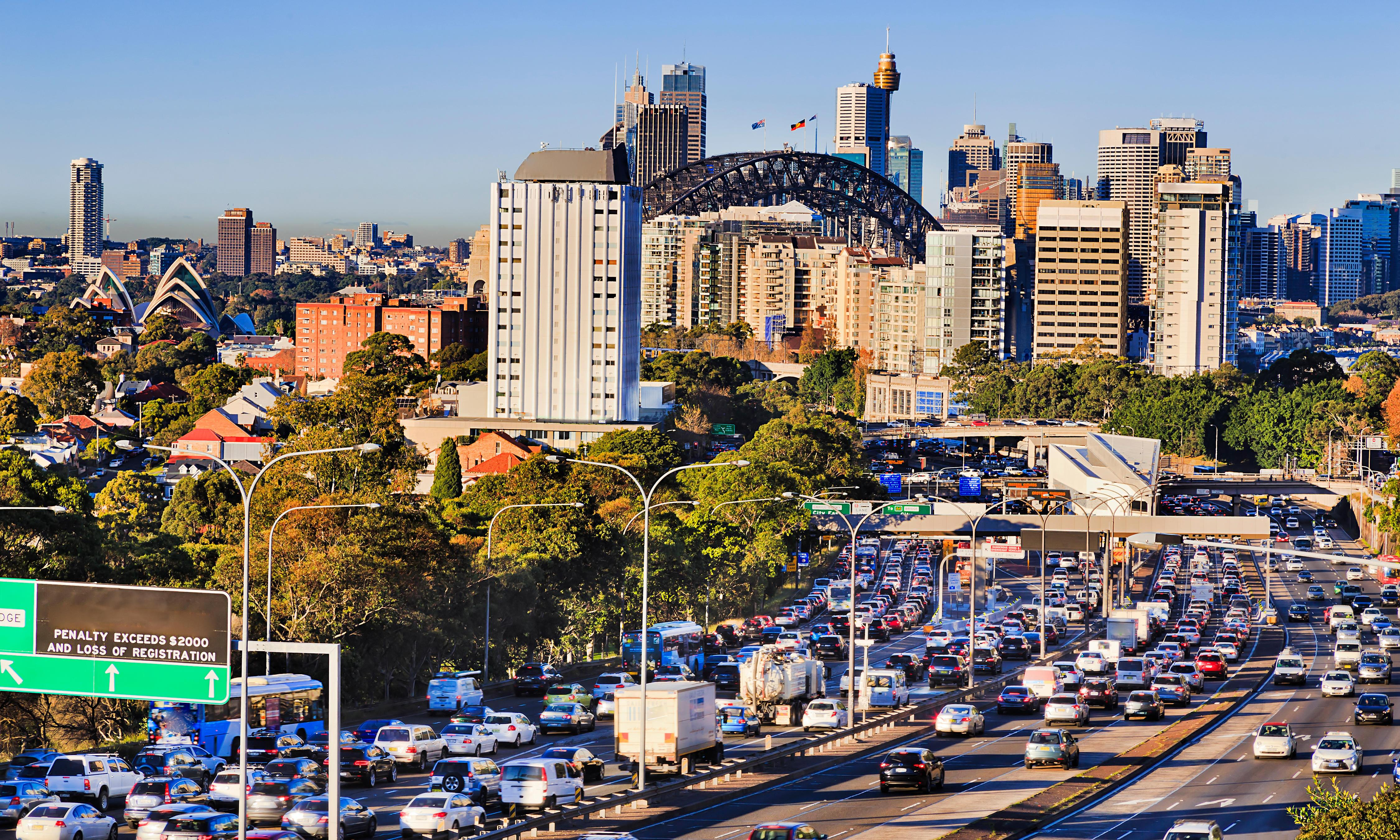 Congestion charges in Sydney and Melbourne wouldn't have to penalise poor people
