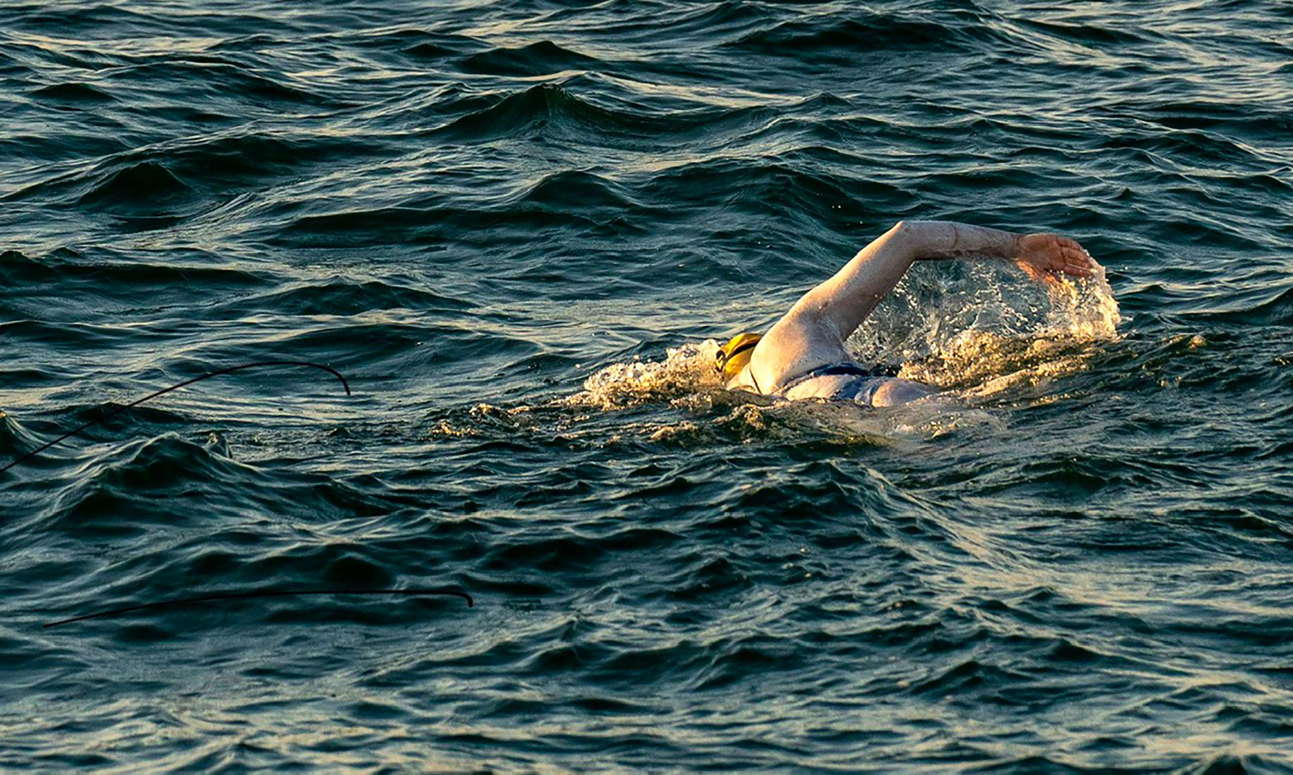 It's no surprise that a woman was the first to swim the Channel four times