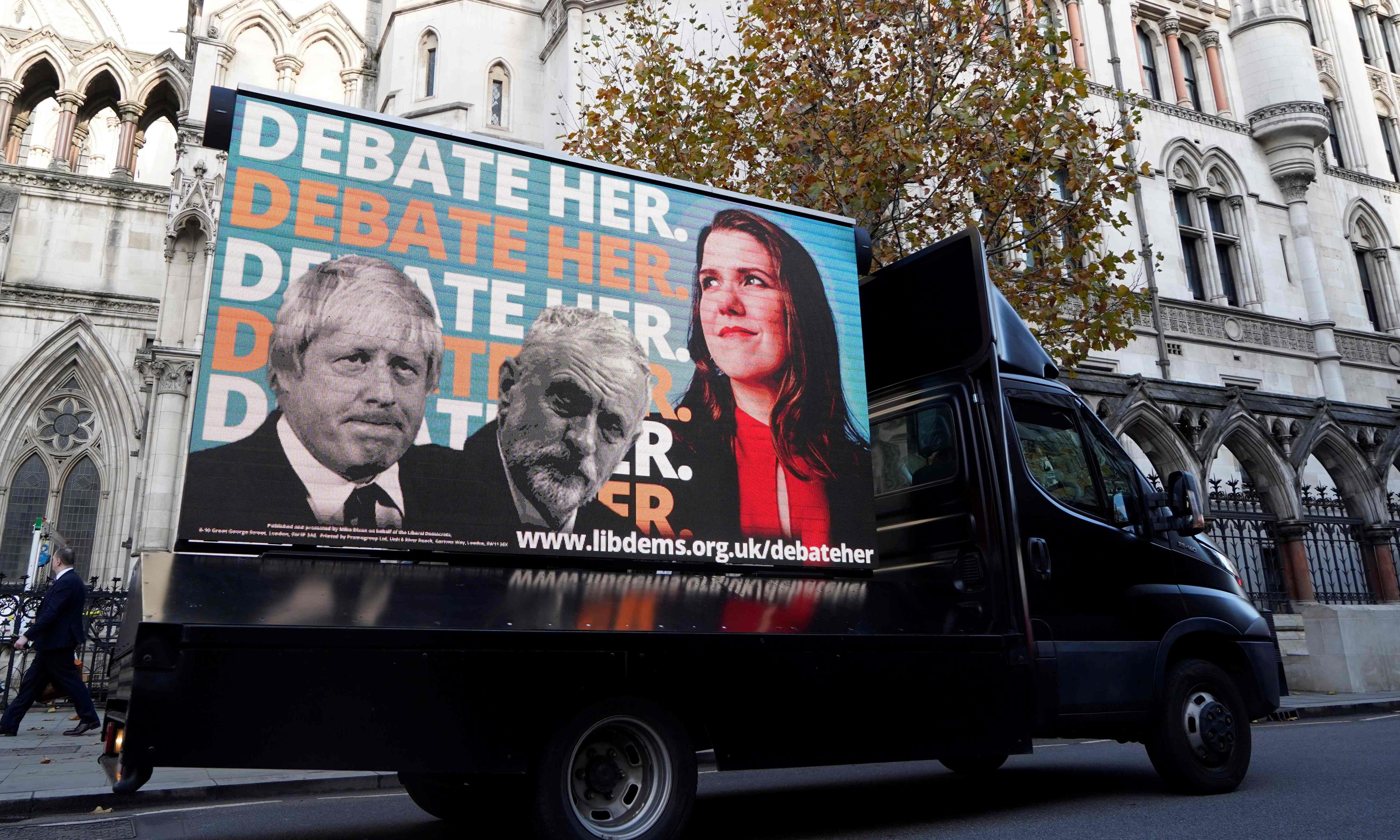 Lib Dems and SNP lose high court bid over TV election debate