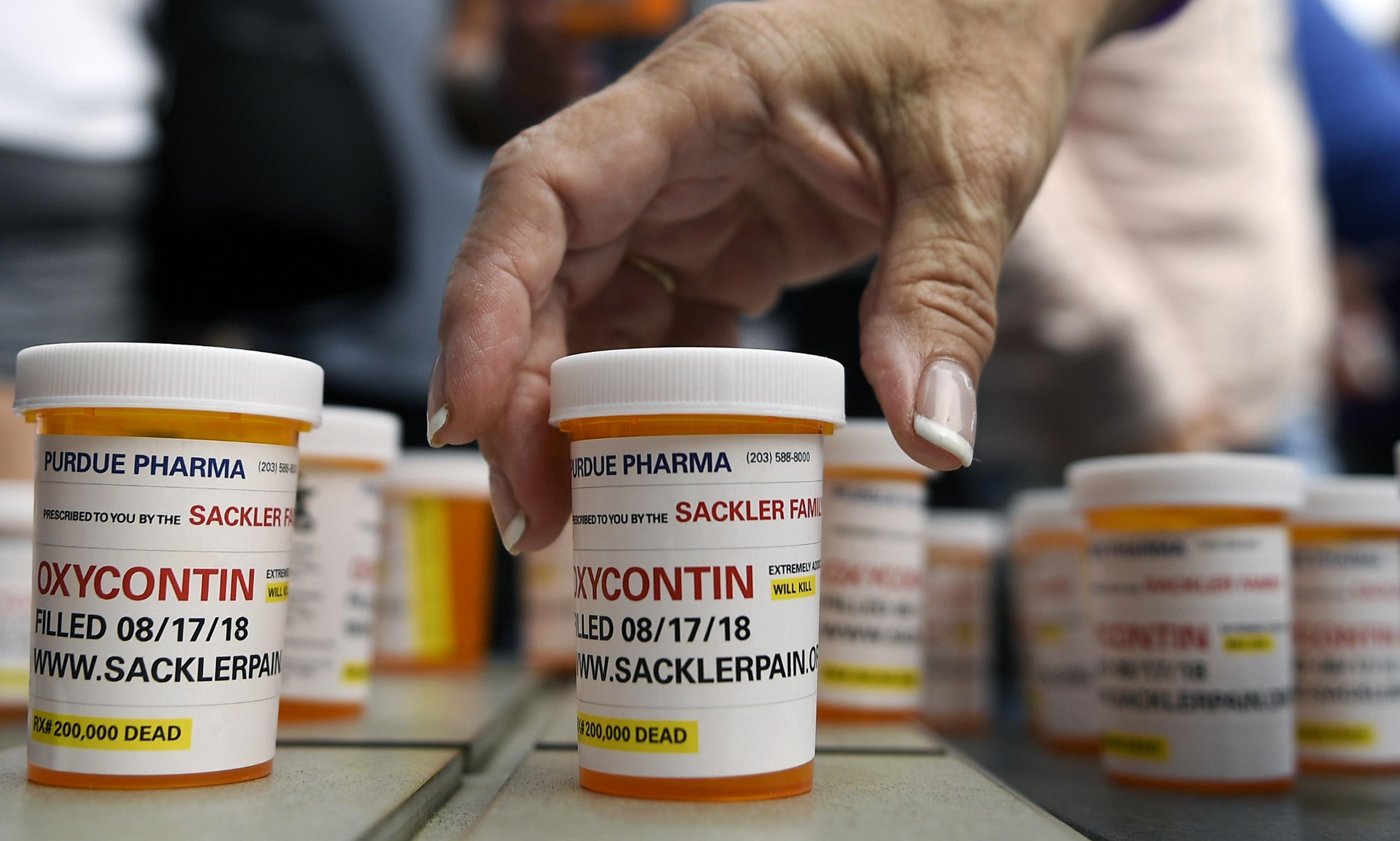 OxyContin maker Purdue Pharma files for bankruptcy
