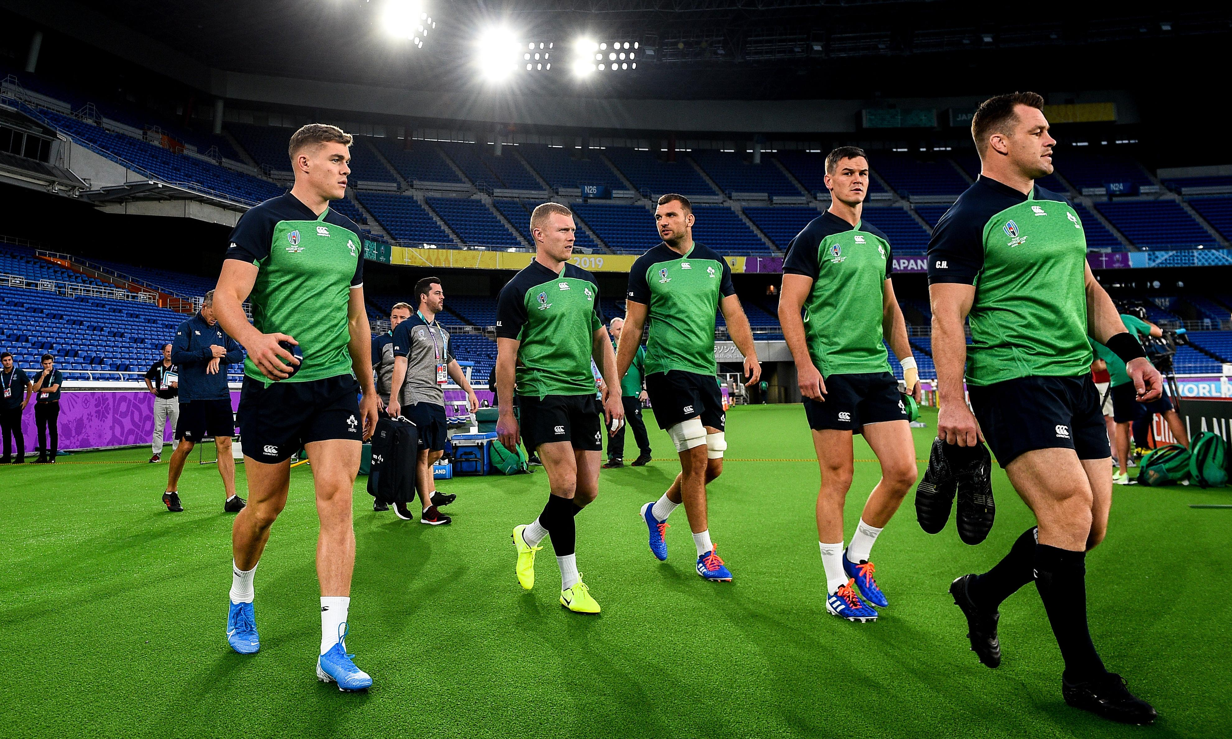 Ireland v Scotland match likely to leave losers fighting for second in pool
