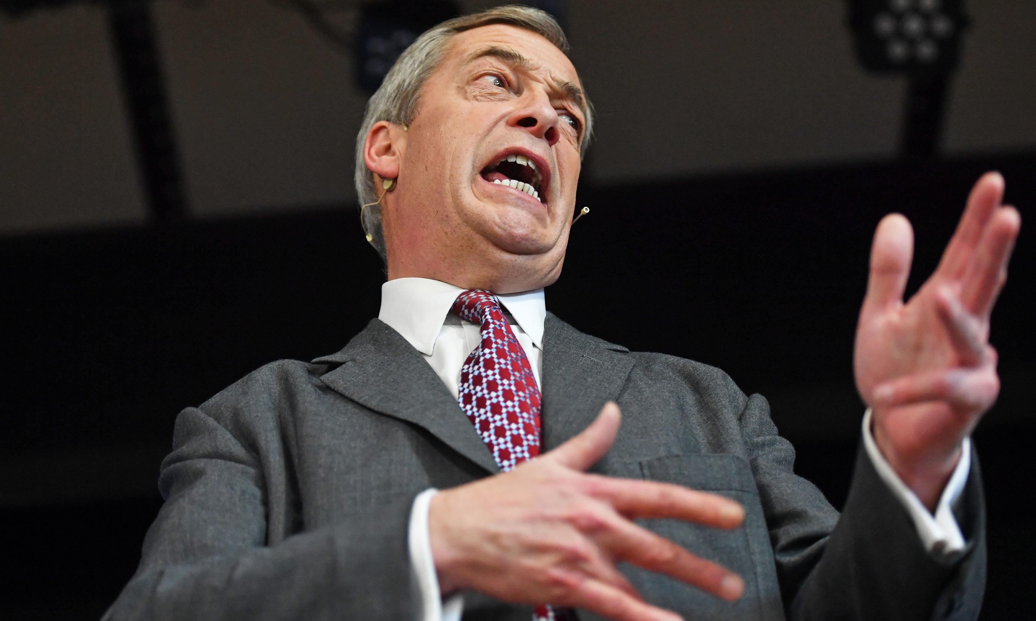 Farage appeared with antisemitic pastor on US web radio show