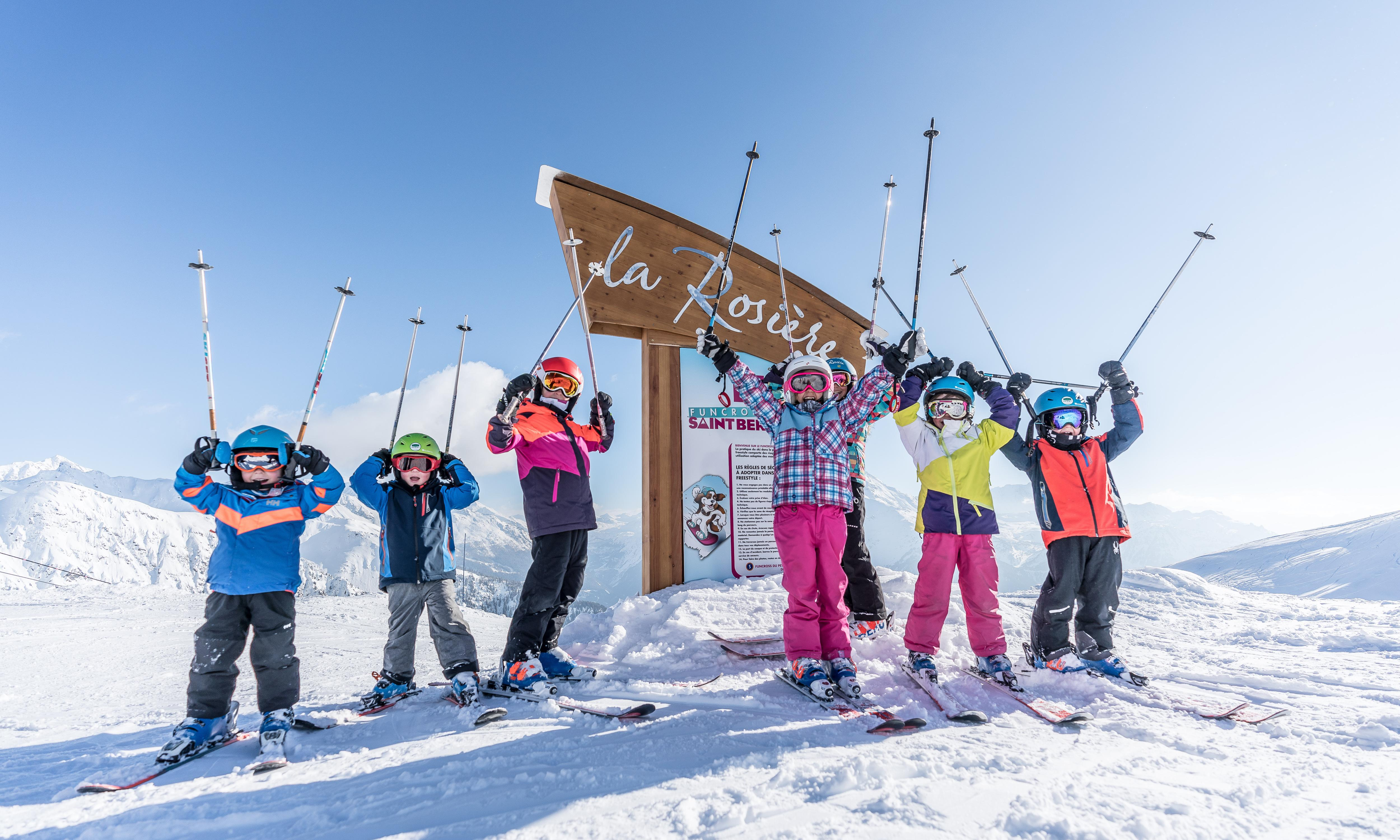 Family skiing in the French Alps – fun on and off the slopes