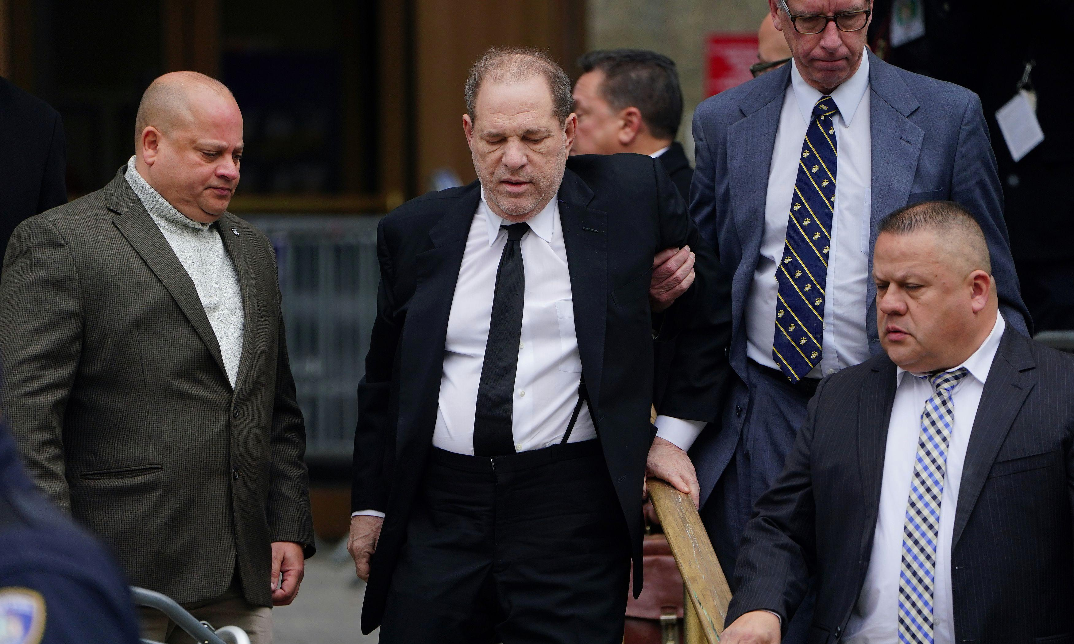 Harvey Weinstein: first day of sexual crimes trial erupts as lawyers trade insults