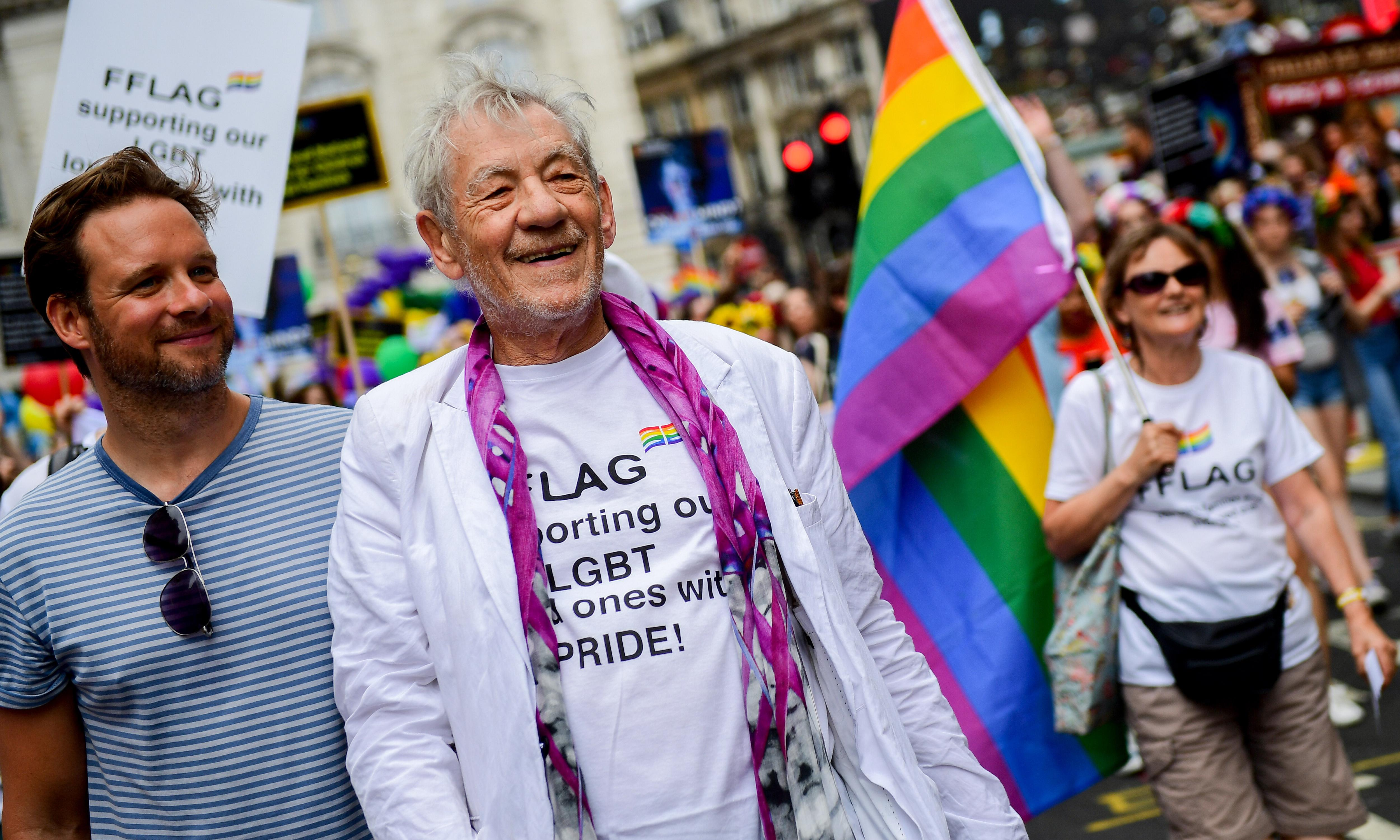 This year's Pride biggest yet, claim march organisers