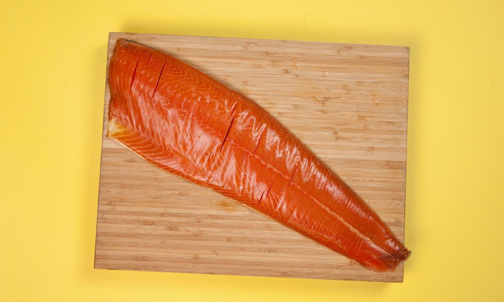 Secret Smokehouse London Cure Oak Smoked Salmon