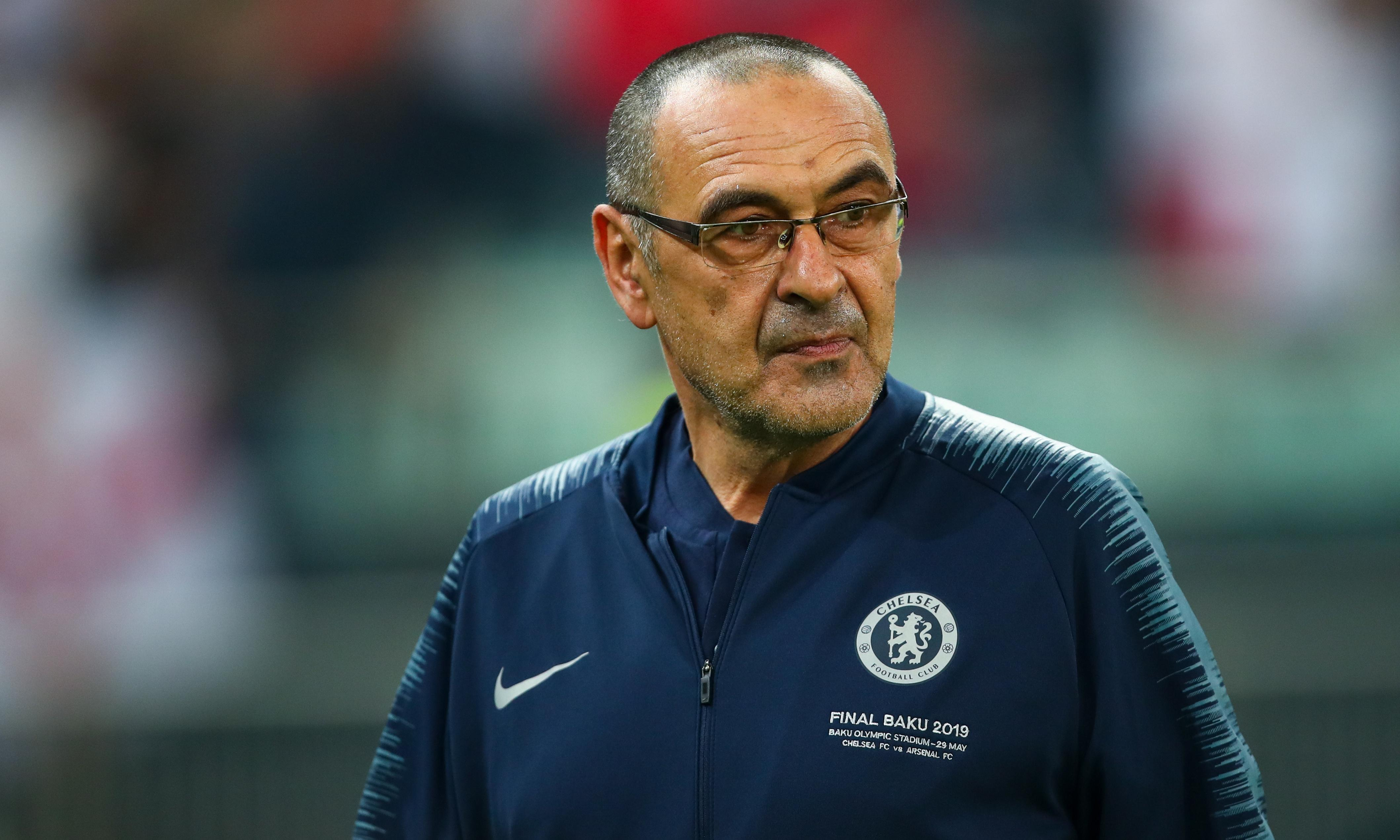 Juventus and Chelsea reach agreement in principle over Maurizio Sarri