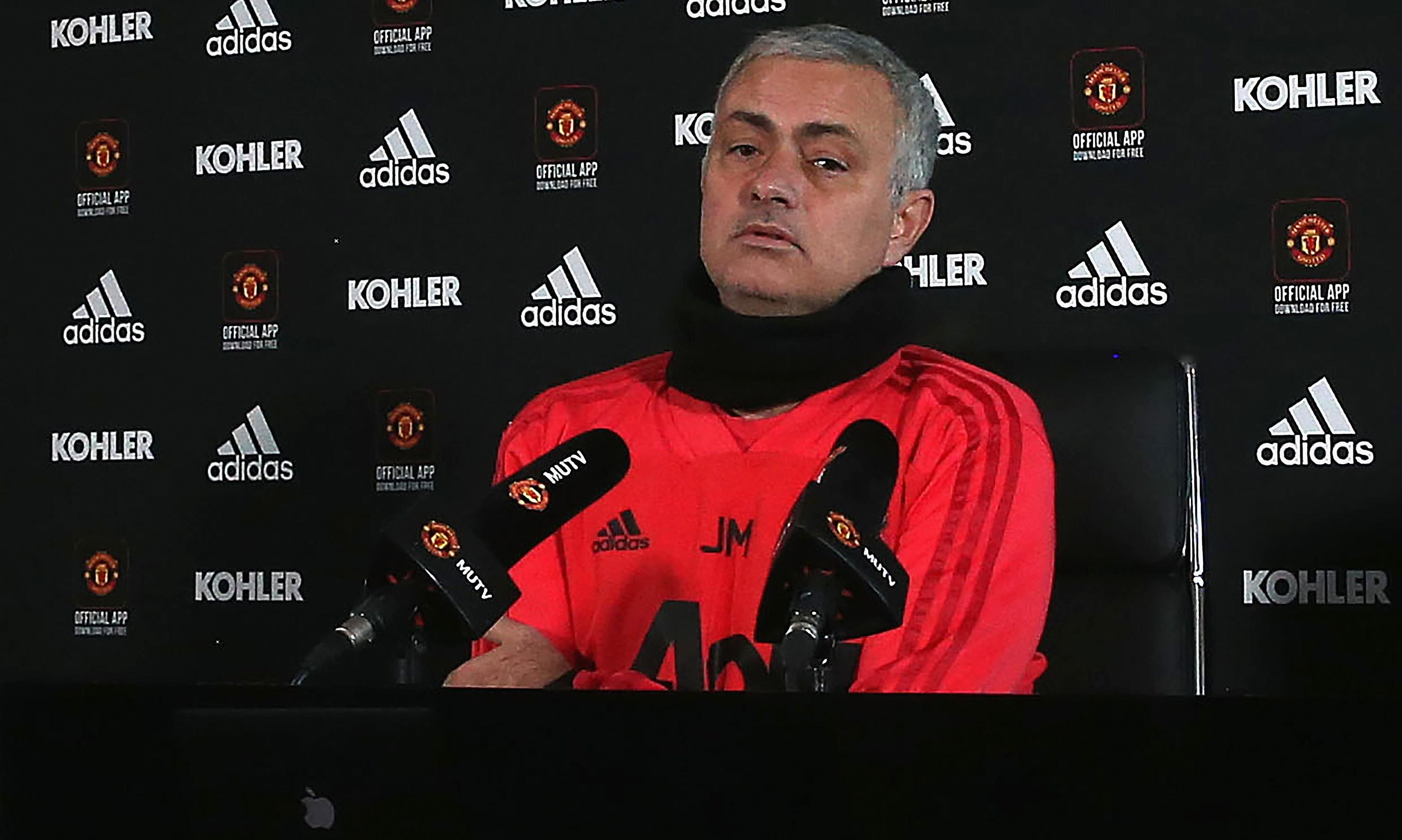 José Mourinho: Manchester United are far from playing in my image