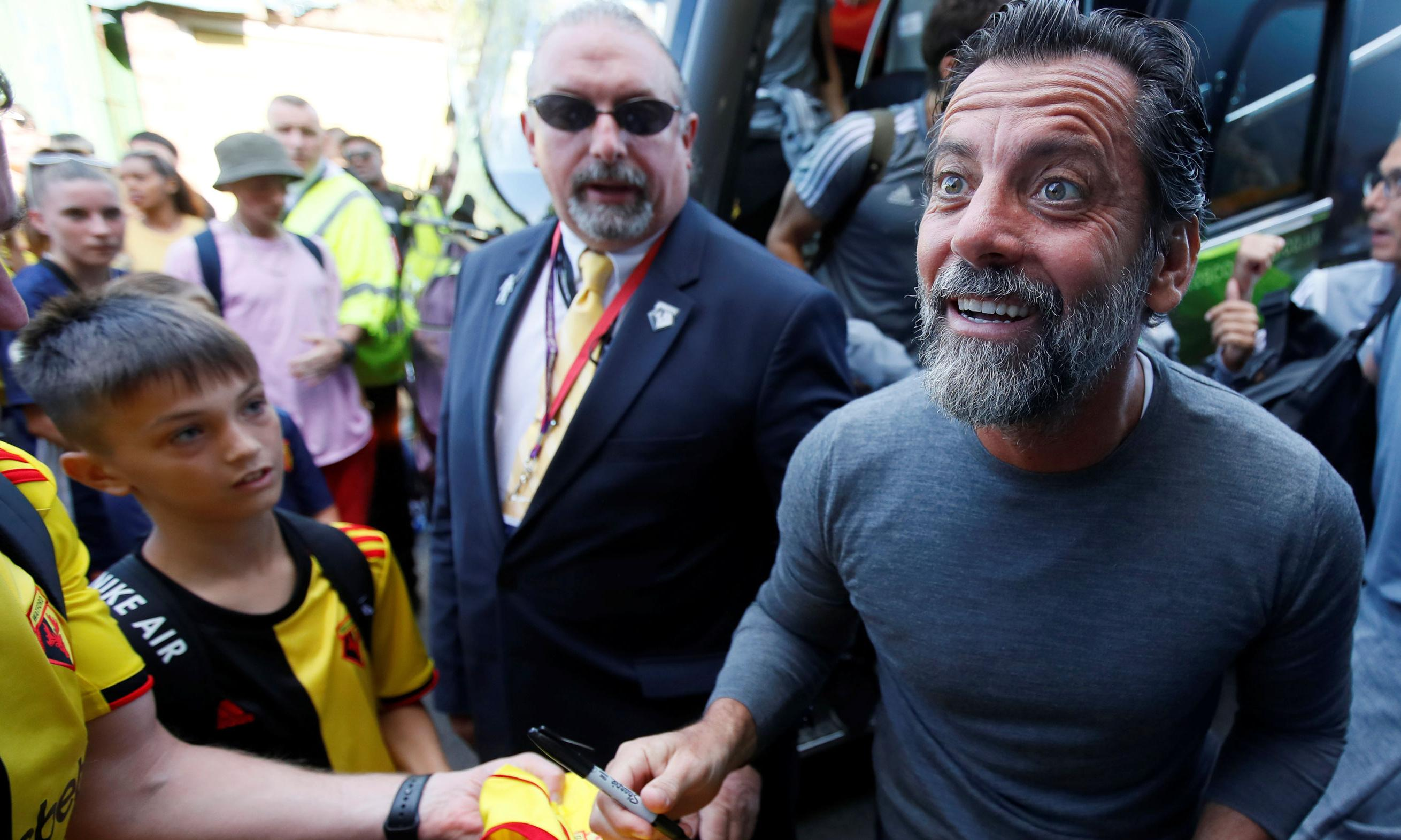 Watford look like their old selves now Quique Sánchez Flores is back