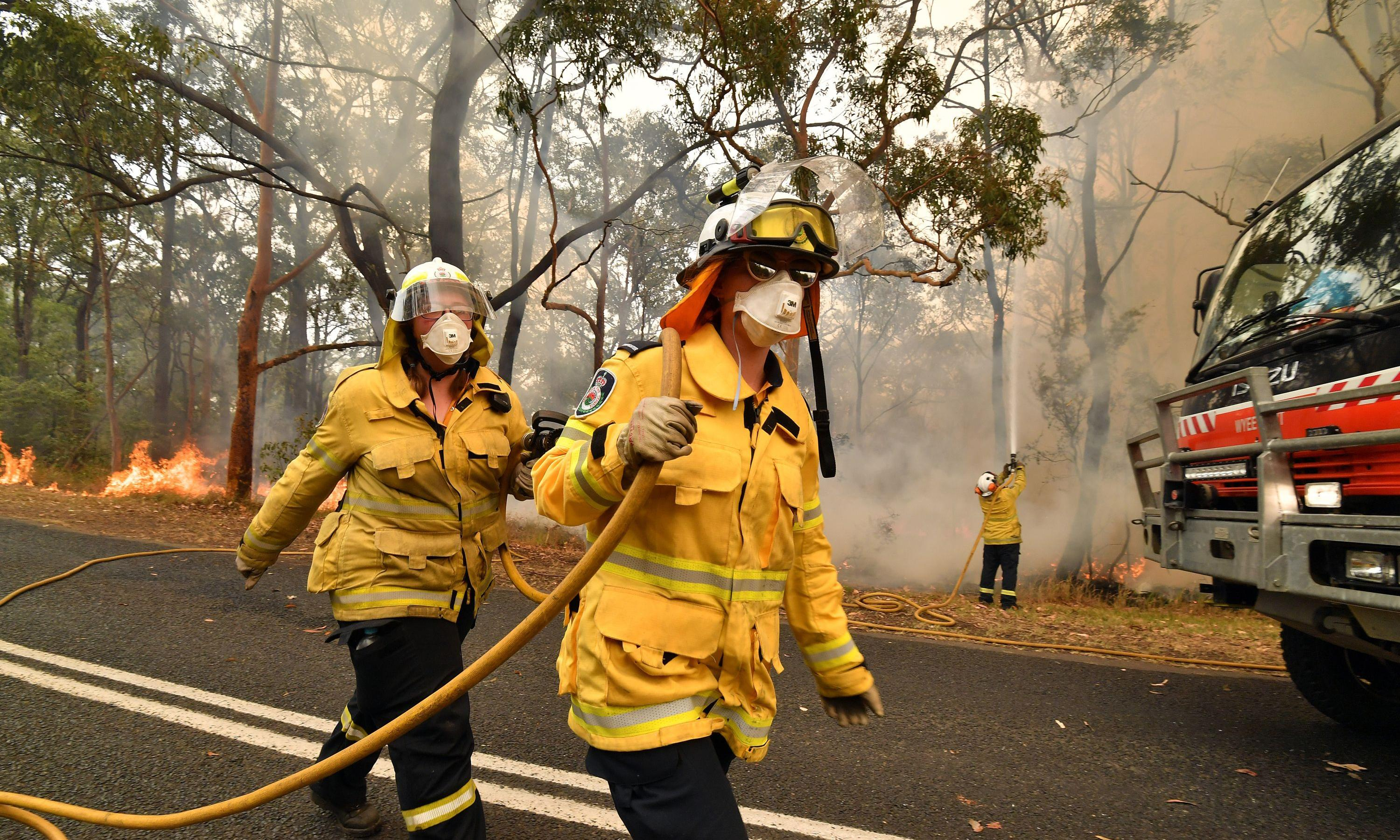 Hazard reduction burning had little to no effect in slowing extreme bushfires