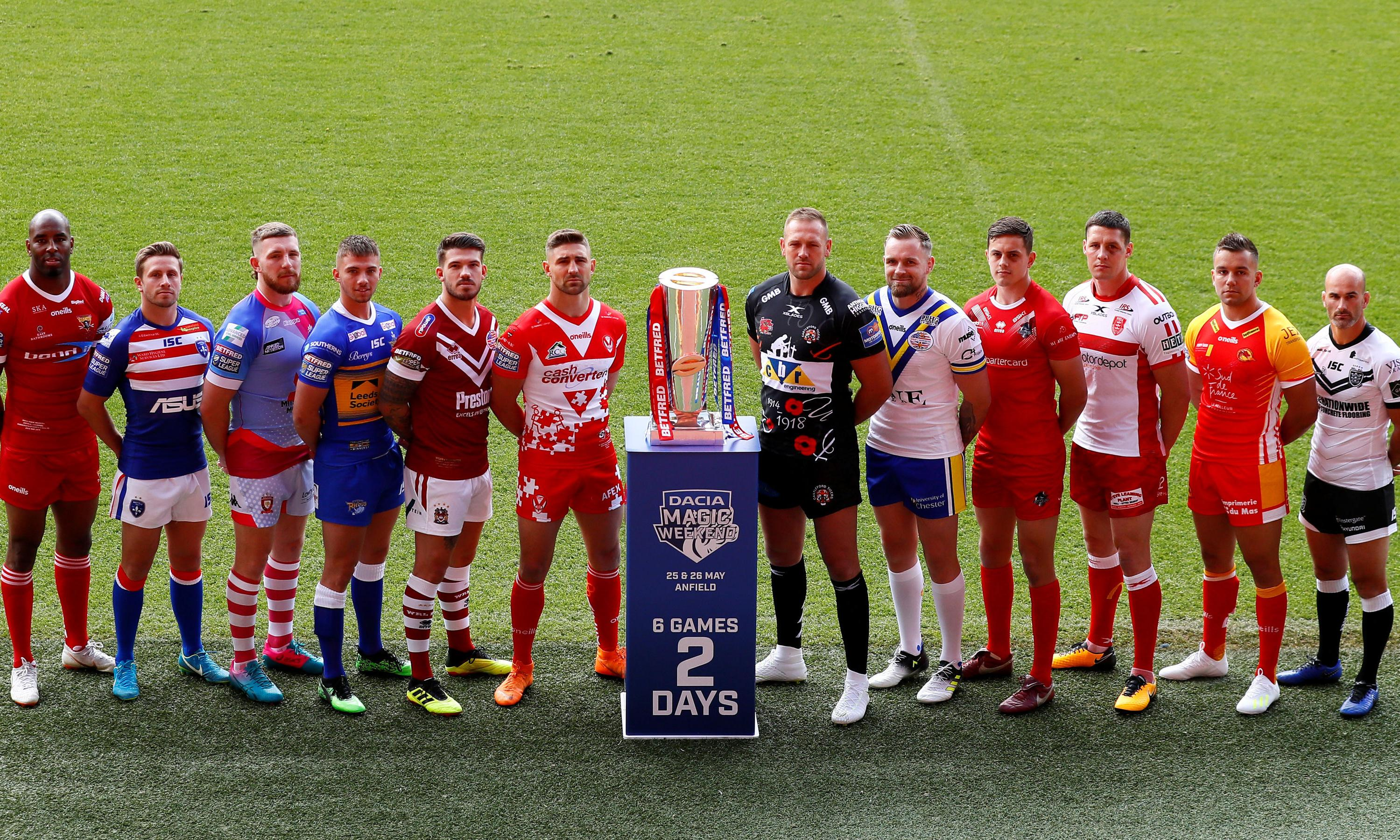 Leeds and London face a relegation scrap at Anfield in Magic Weekend