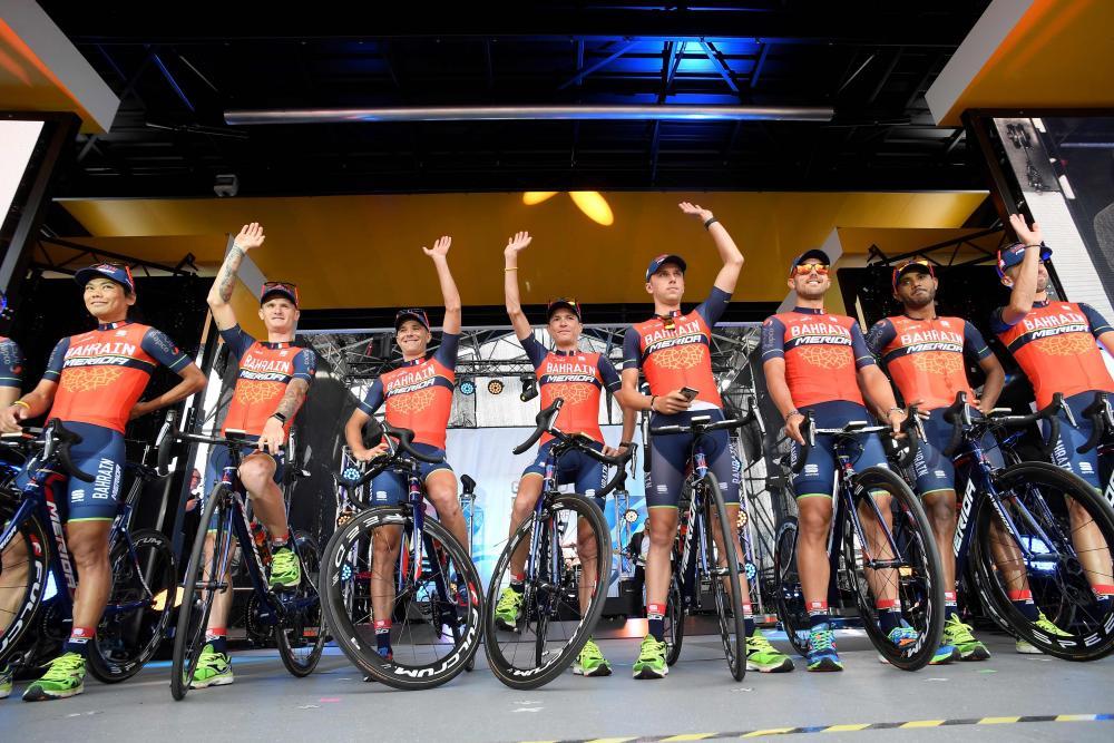 Bahrain Merida cycling team