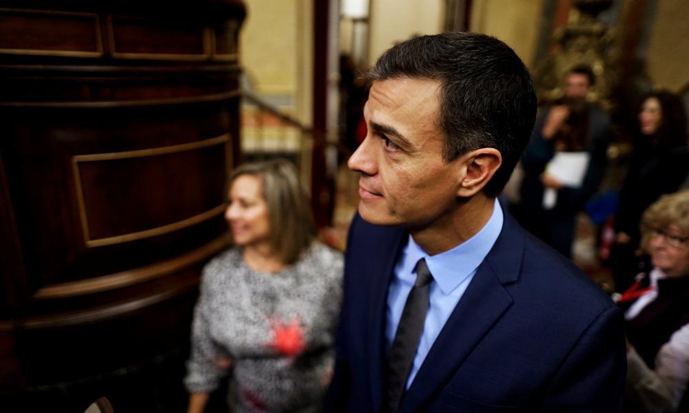 Spain's prime minister Pedro Sánchez.