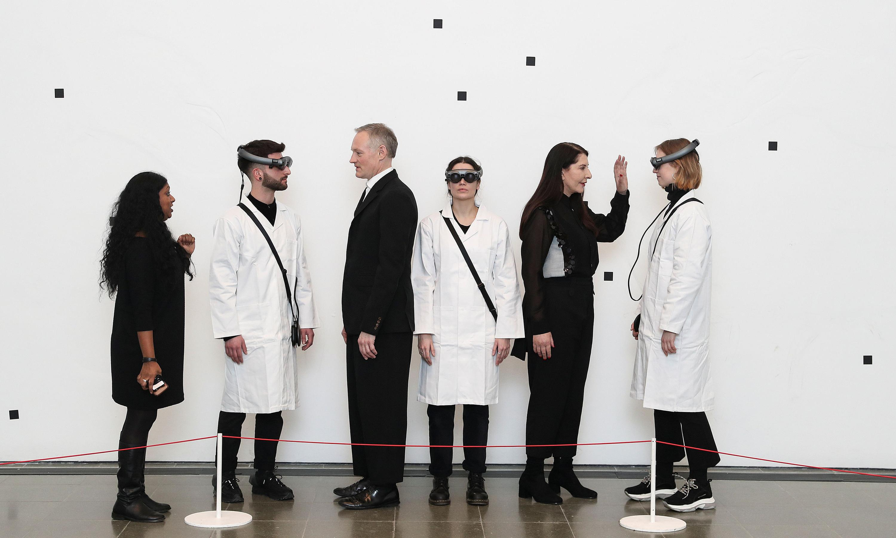 Marina Abramović: The Life review – 'A pointless perversion that hurts your eyes'