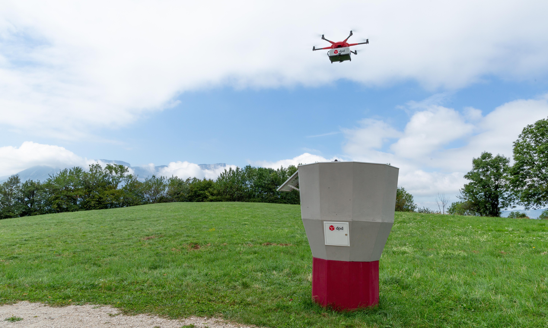 Drones used to deliver parcels to remote Alpine villages