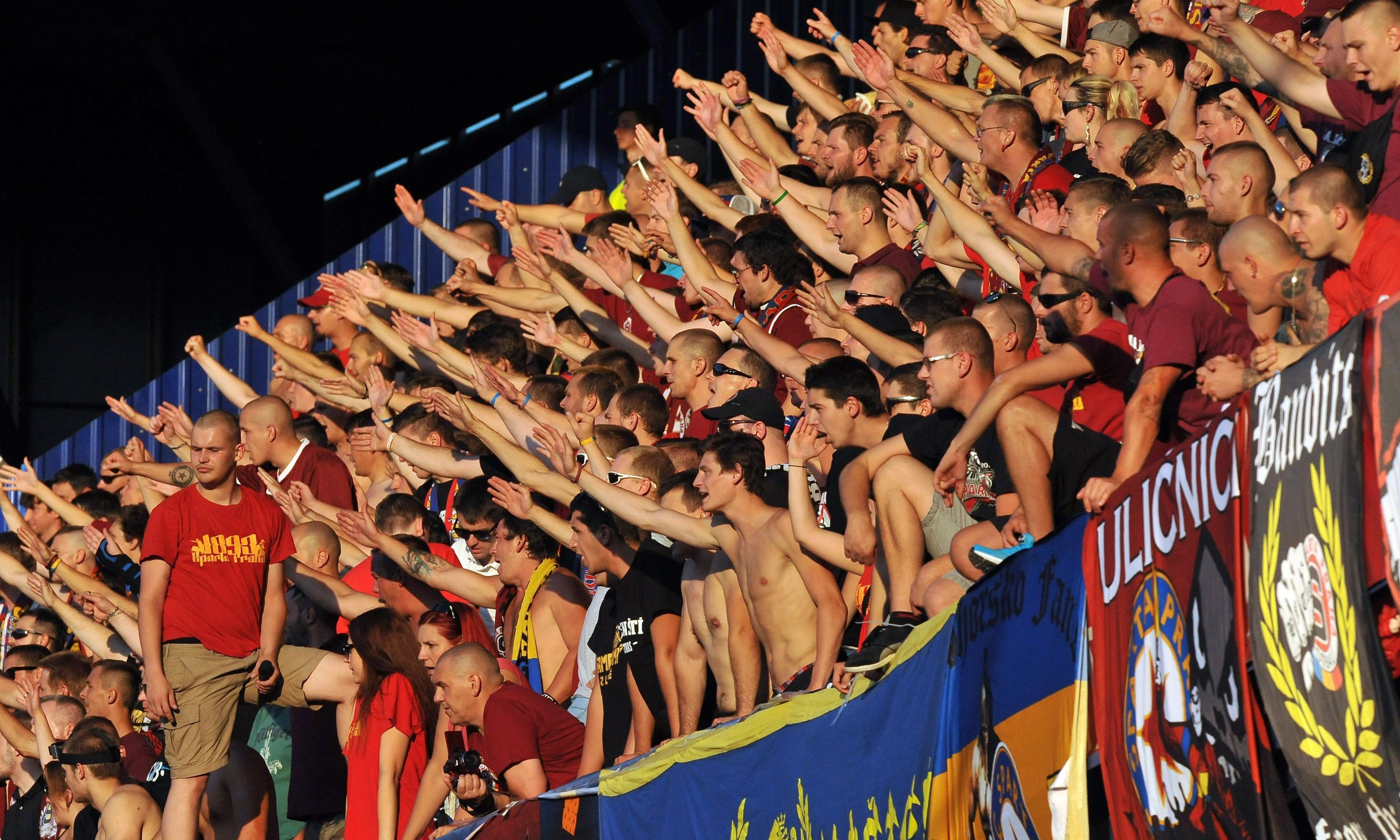 Racist fans get Jewish history lesson as rival Prague teams clash