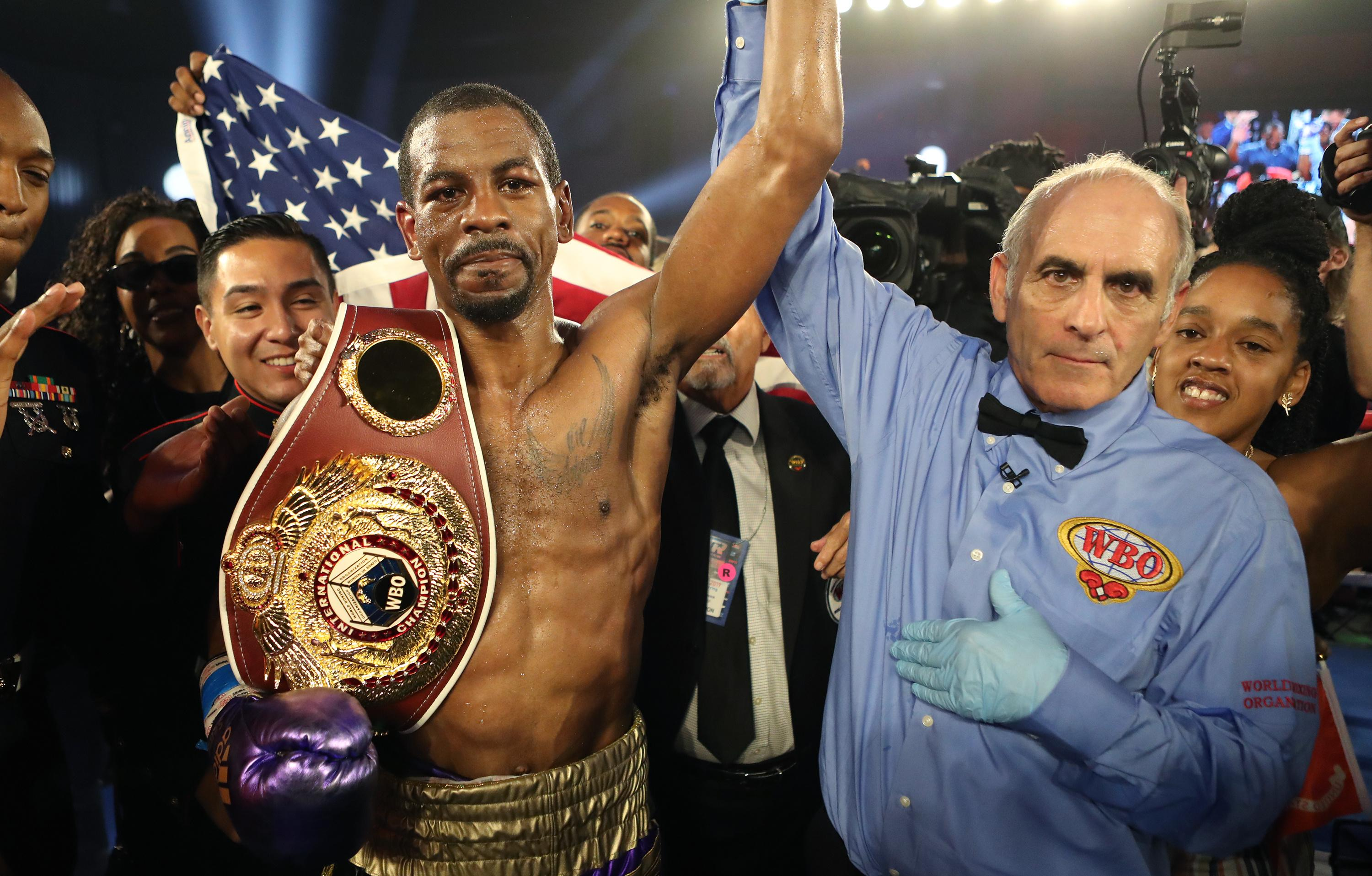 Jamel Herring: from the Iraq War to boxing glory ... and West Side Story