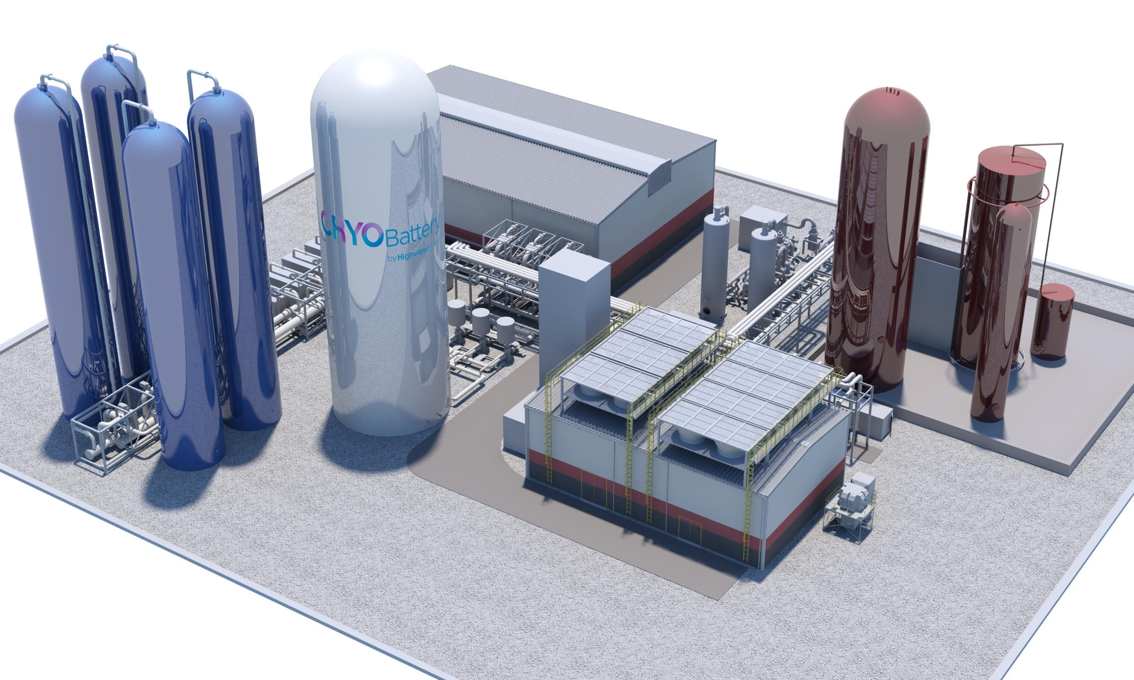 UK firm announces plans for first 'liquid to gas' cryogenic battery