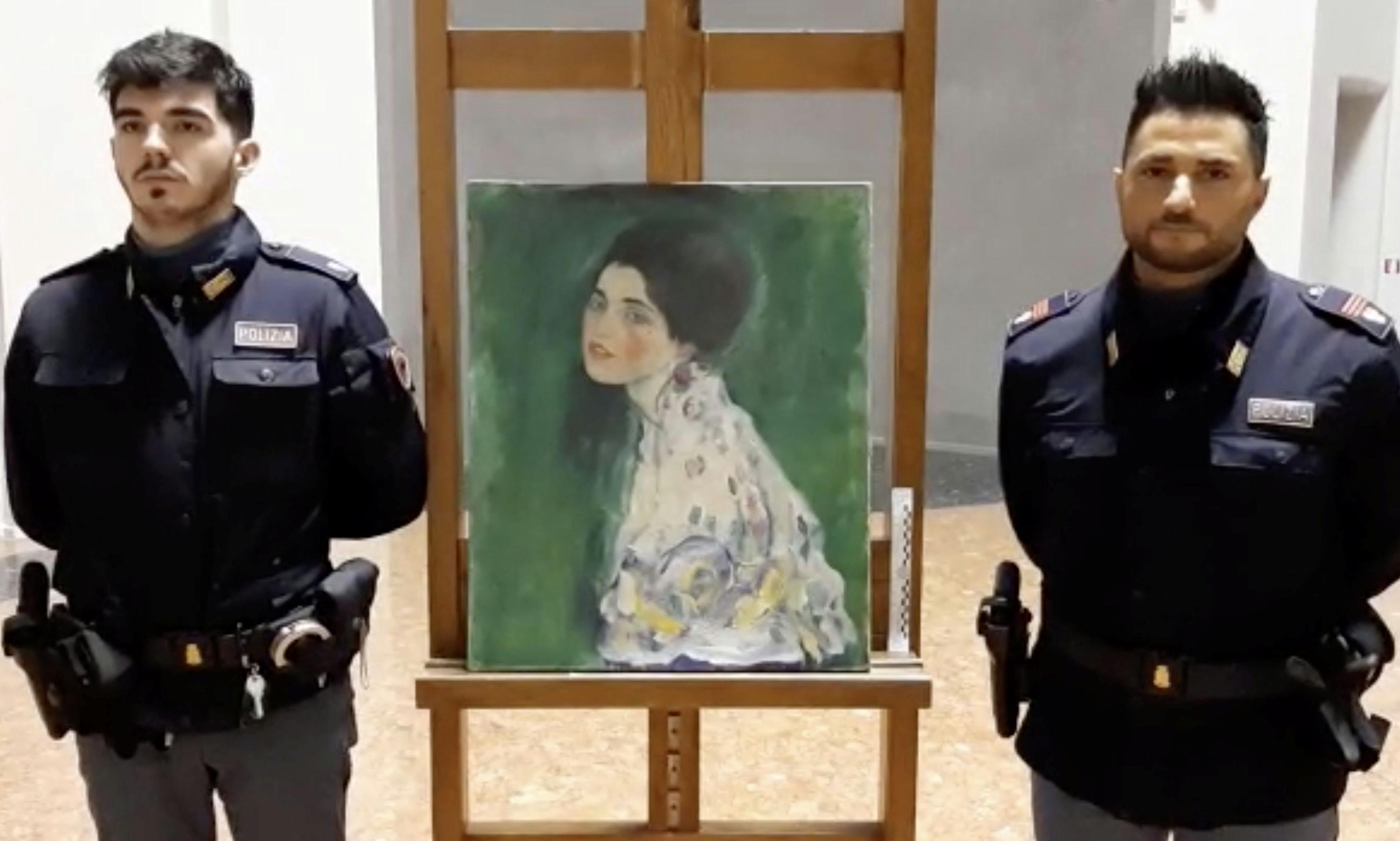 Painting found hidden in Italian gallery wall may be stolen Klimt