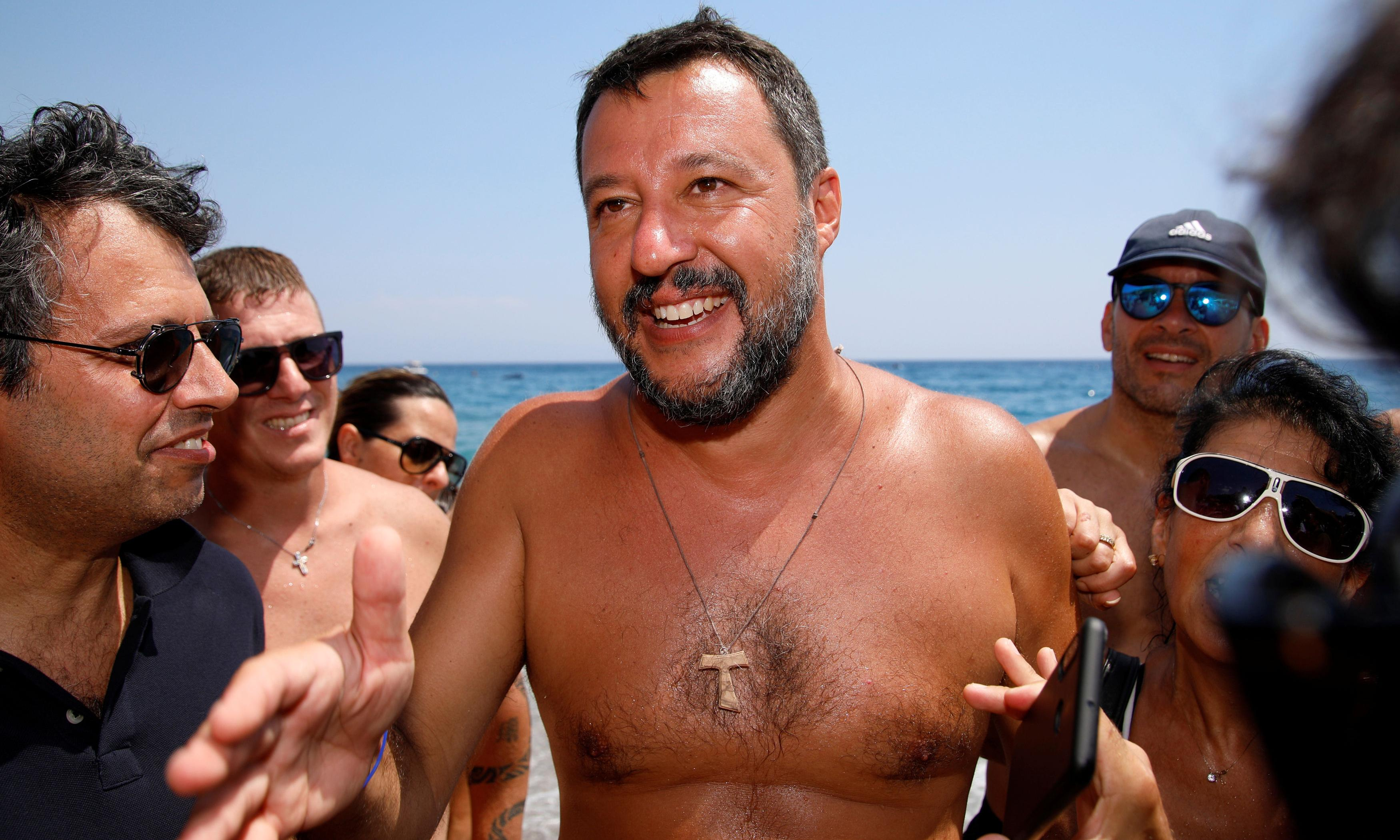 Back me to stop Salvini: Renzi casts himself as Italy's saviour