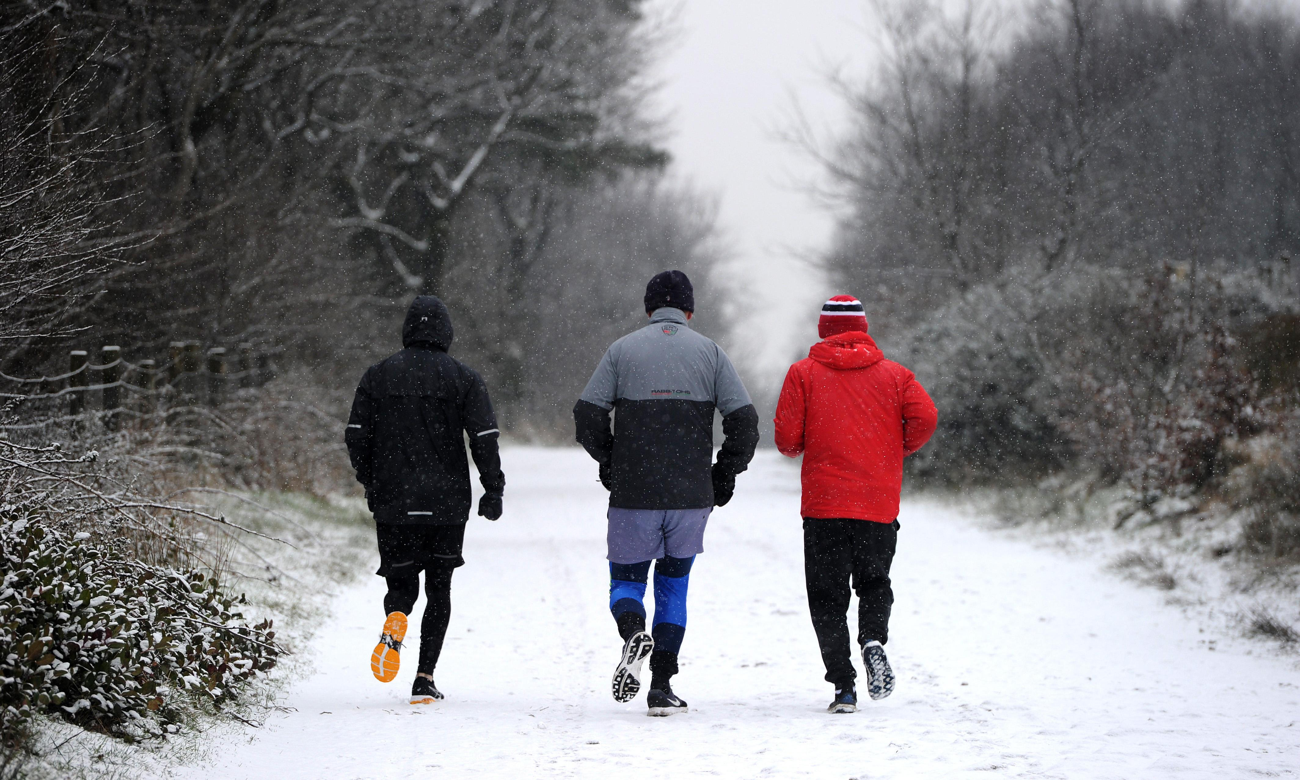 Seven ways to keep exercising in the cold, dark winter months