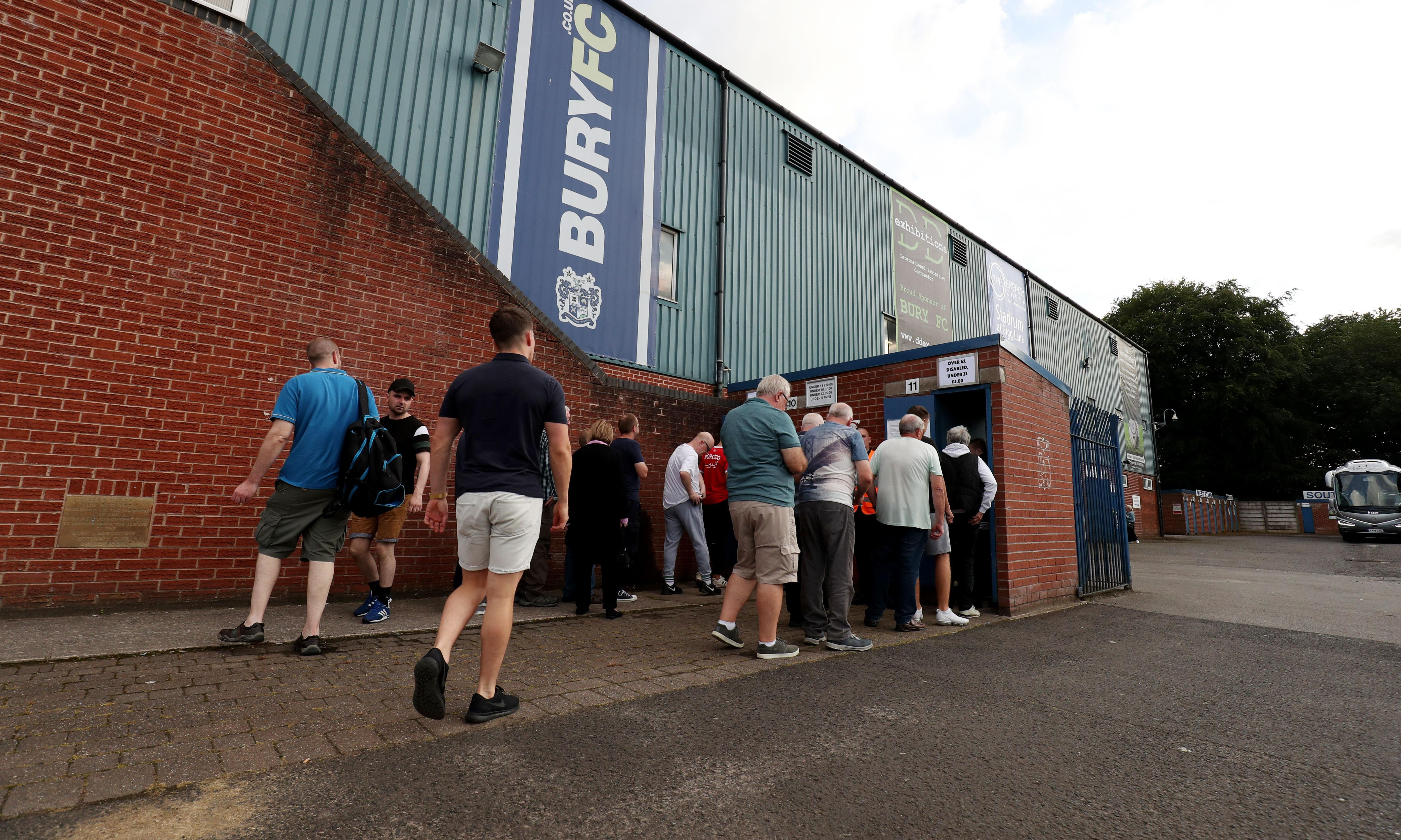 Bury are an extension of family, losing them would devastate a community