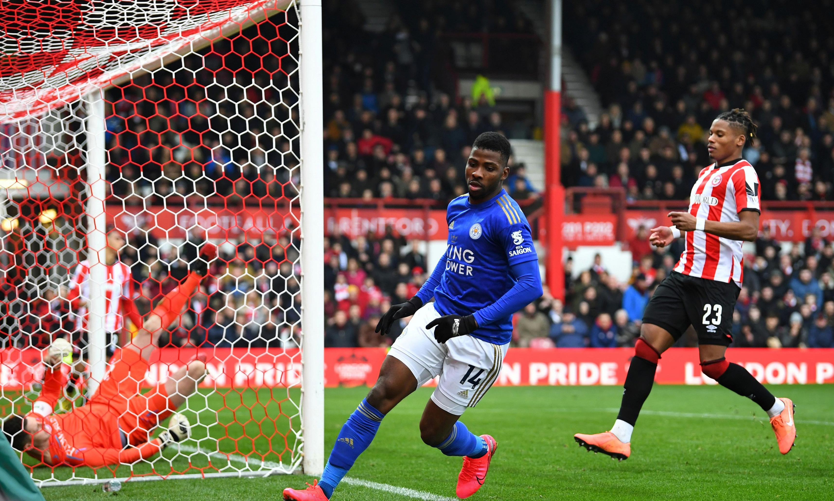 Iheanacho's early strike sees Leicester through FA Cup battle with Brentford