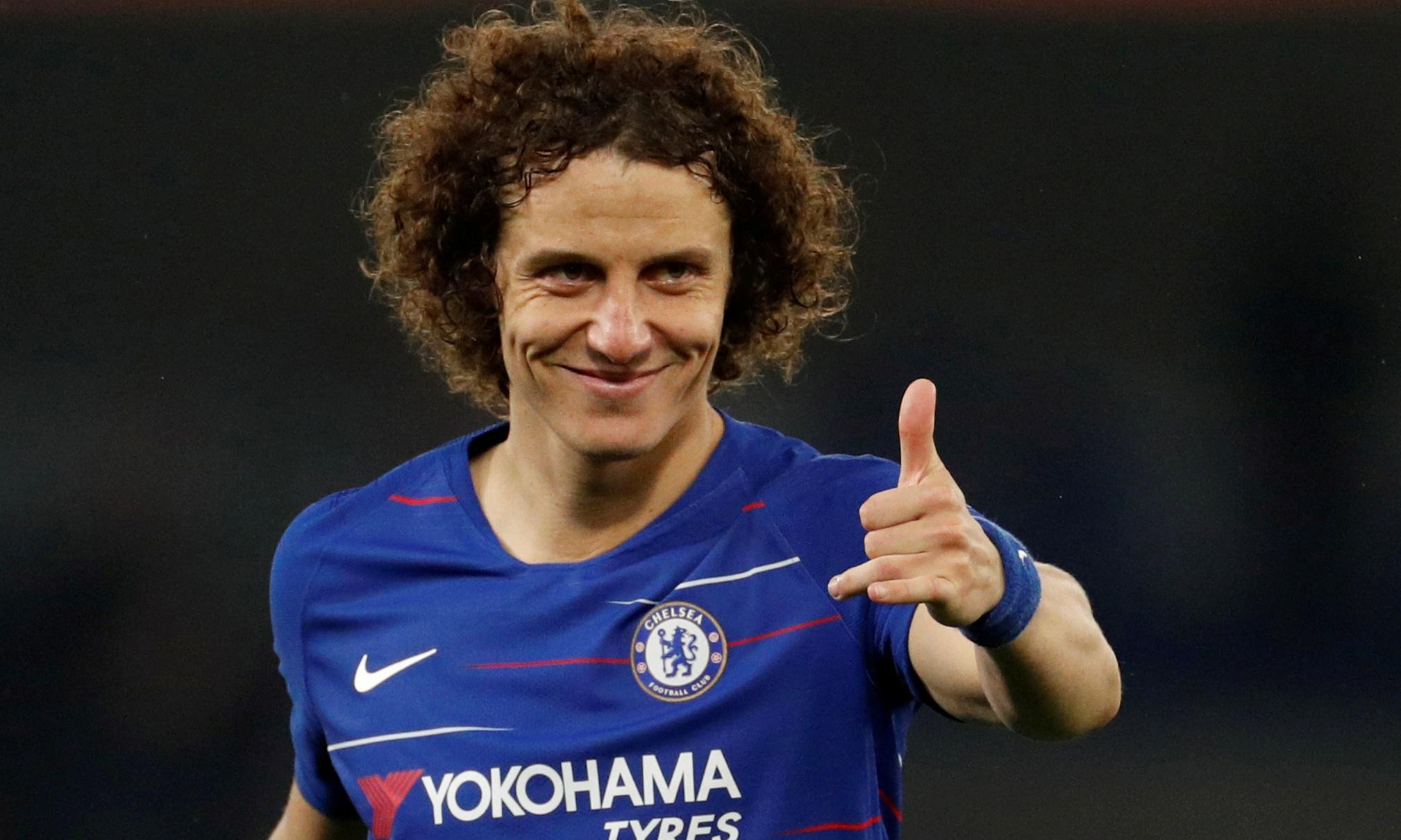 David Luiz: 'We have to beat Unai Emery as well as Arsenal in the final'