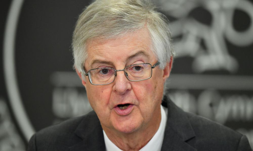 The Welsh first minister, Mark Drakeford