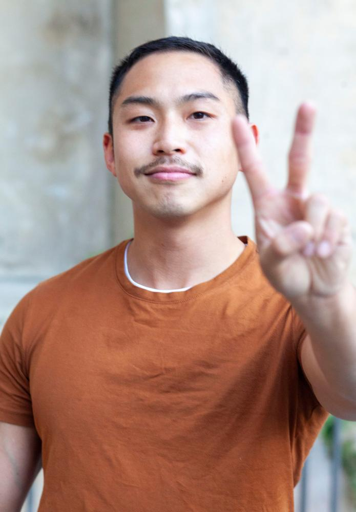 Tony Nhan, a 30-year-old from Erskineville who participated in a NSW PrEP trial.