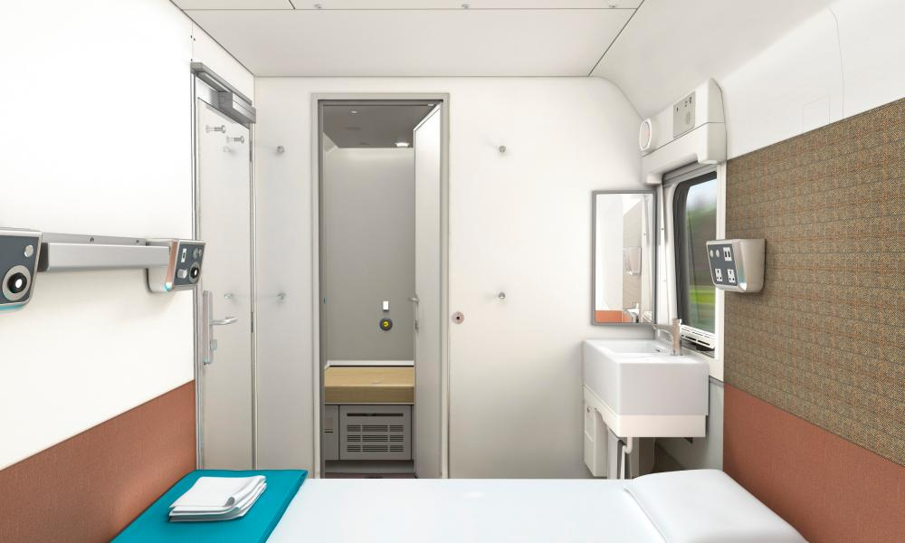 How the new cabins will look on the Caledonian Sleeper