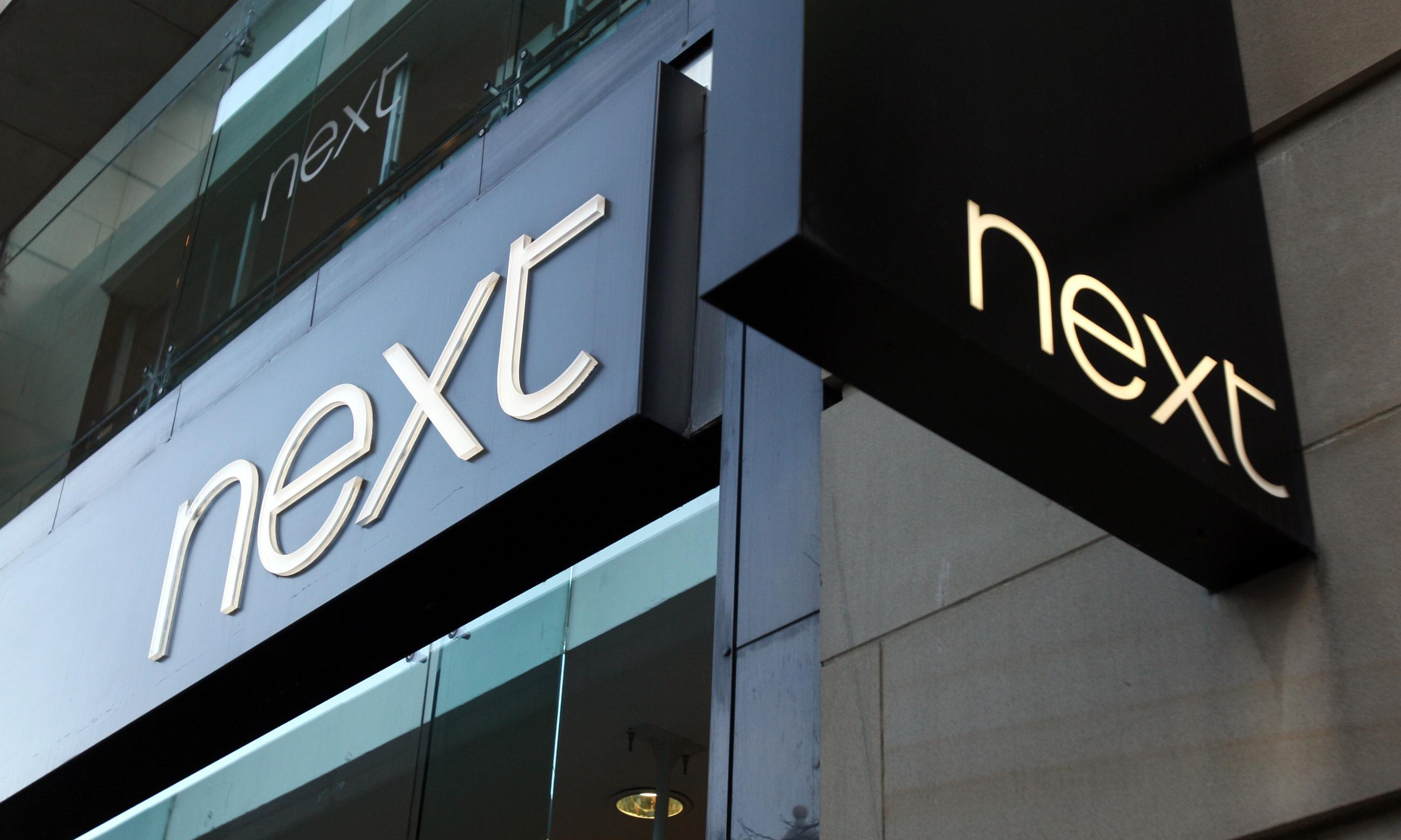 Next blames warm weather for slow sales as shares plummet